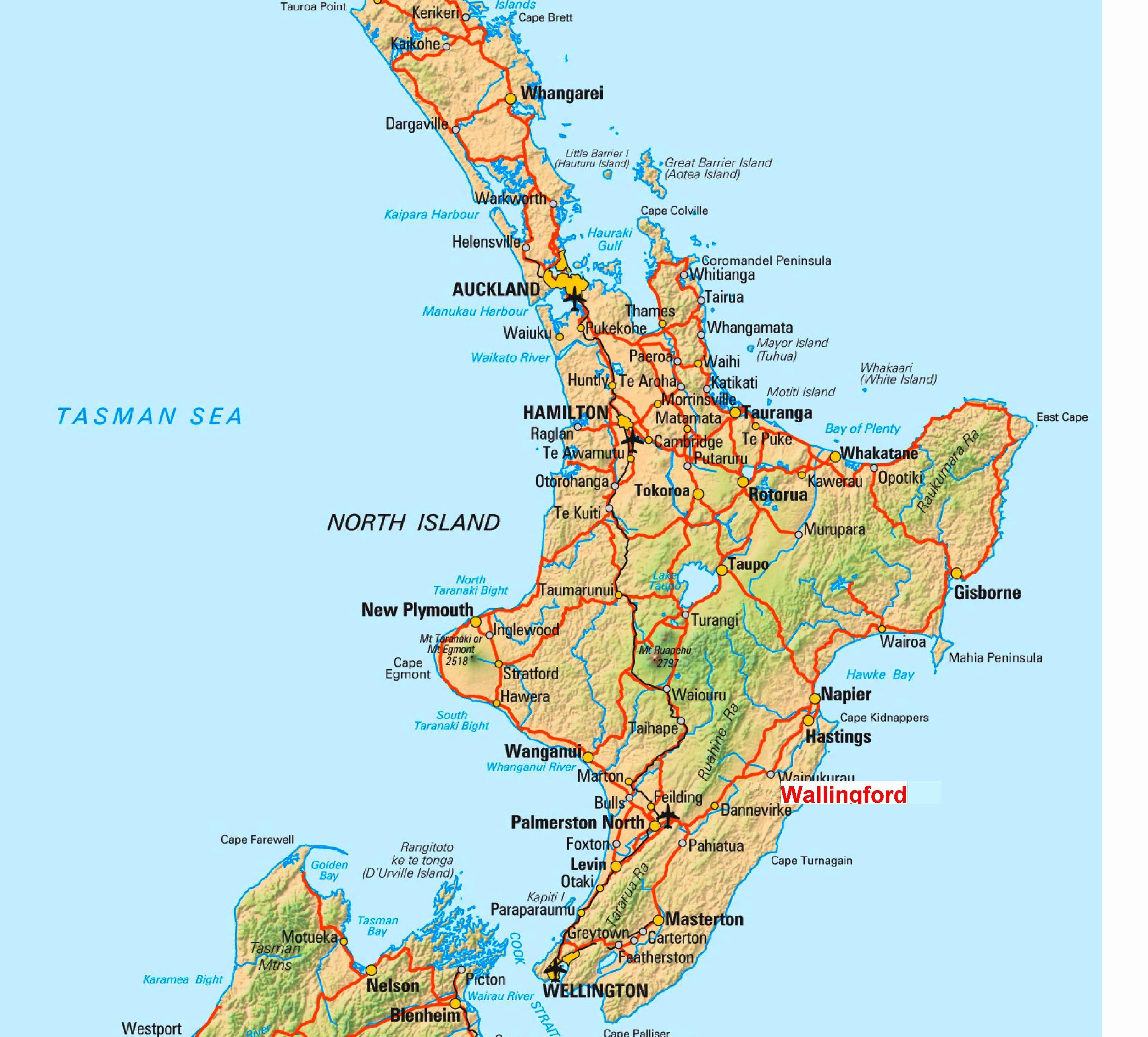 Map Of New Zealand Islands Benschop Net Old Images