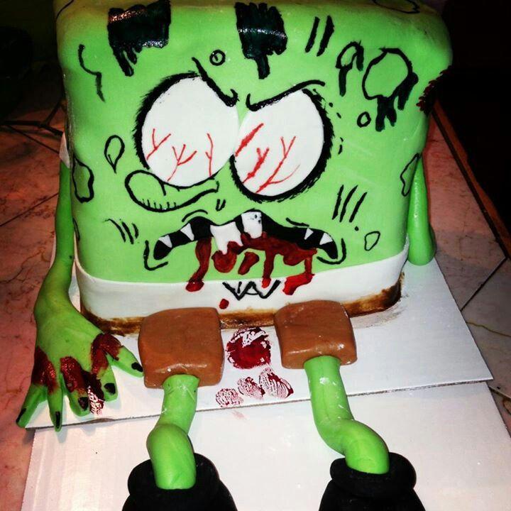 Zombie Cakes Pinterest