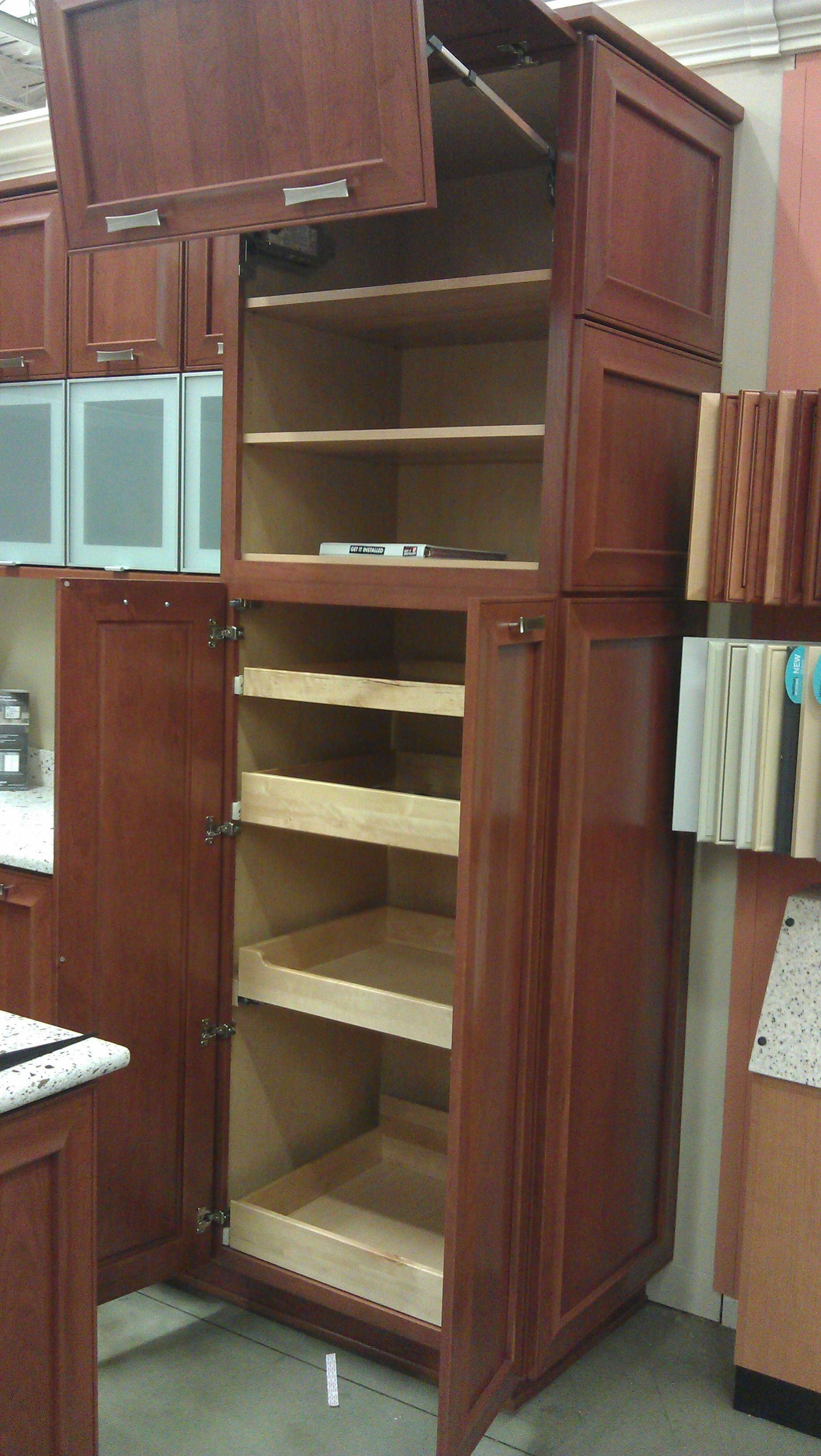 kitchen cabinets pull out shelves new house pinterest