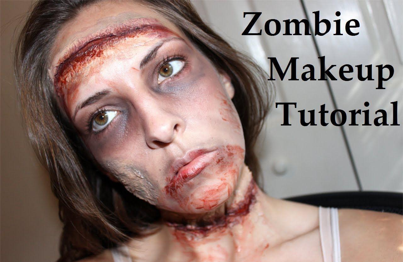 easy girl zombie makeup - photo #28