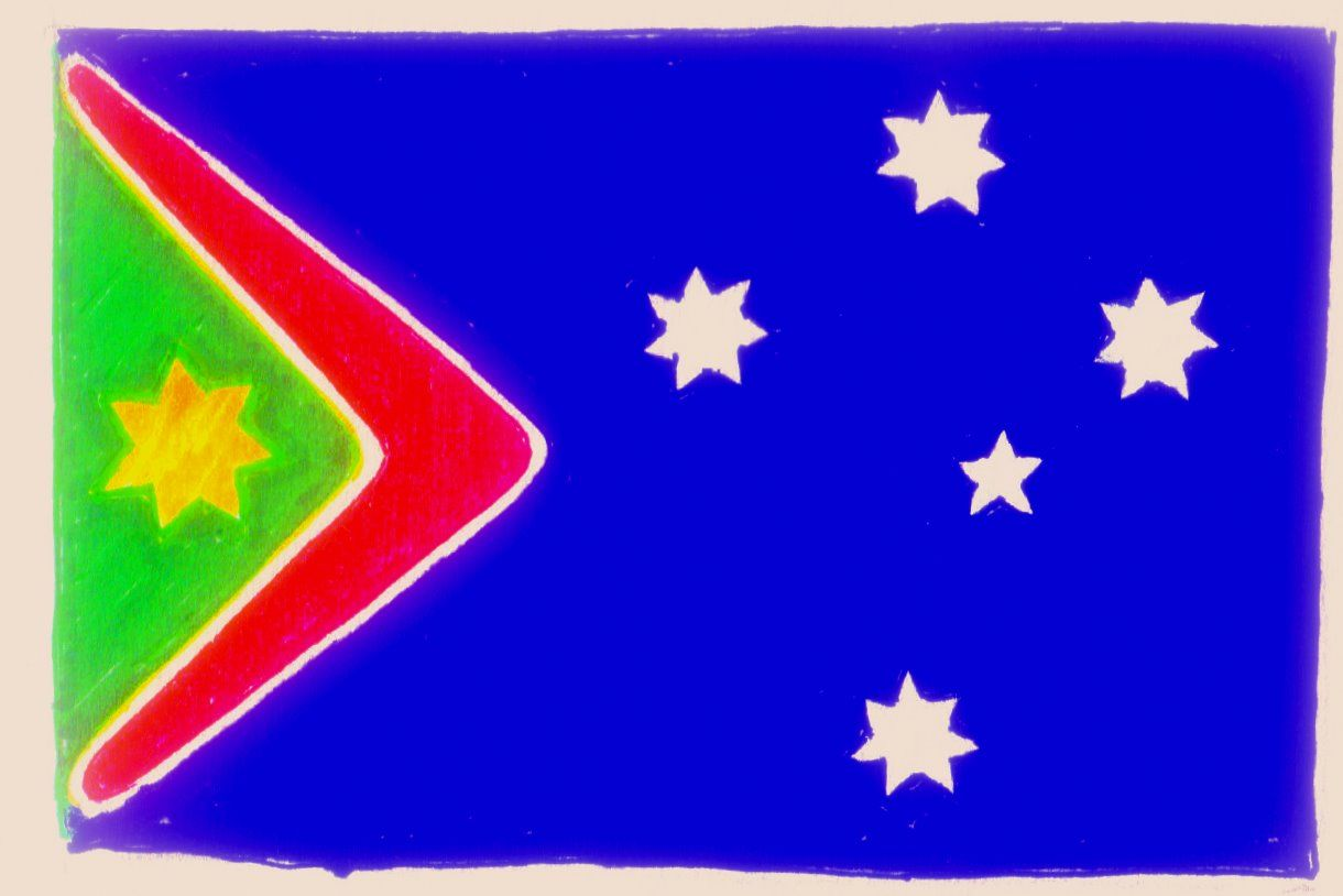 Australian Flag concept | Creative Expressions | Pinterest