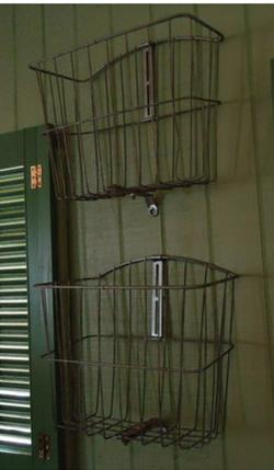 More rustic storage ideas.   #projectnursery, #franklinandben, #nursery