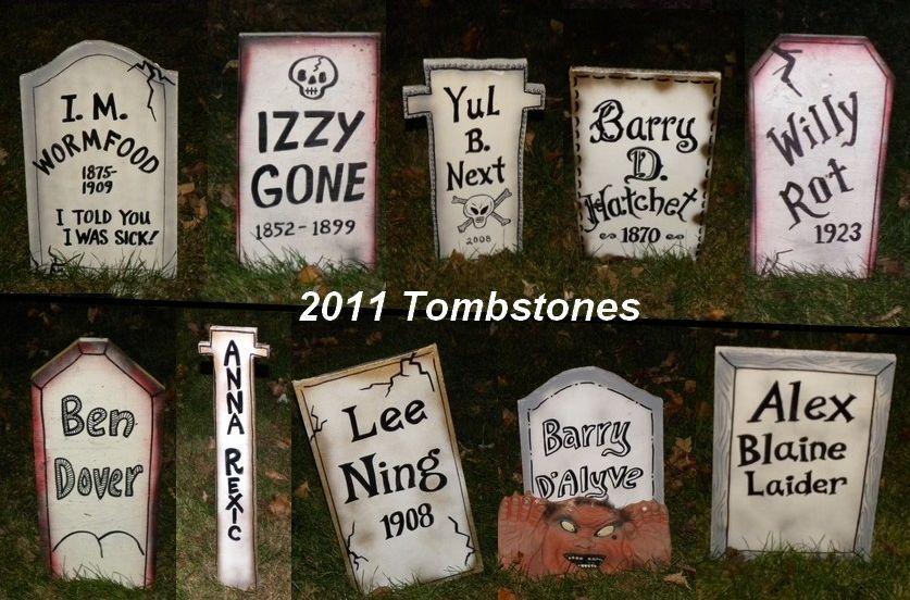 halloween headstones sayings image mag - Funny Halloween Tombstones