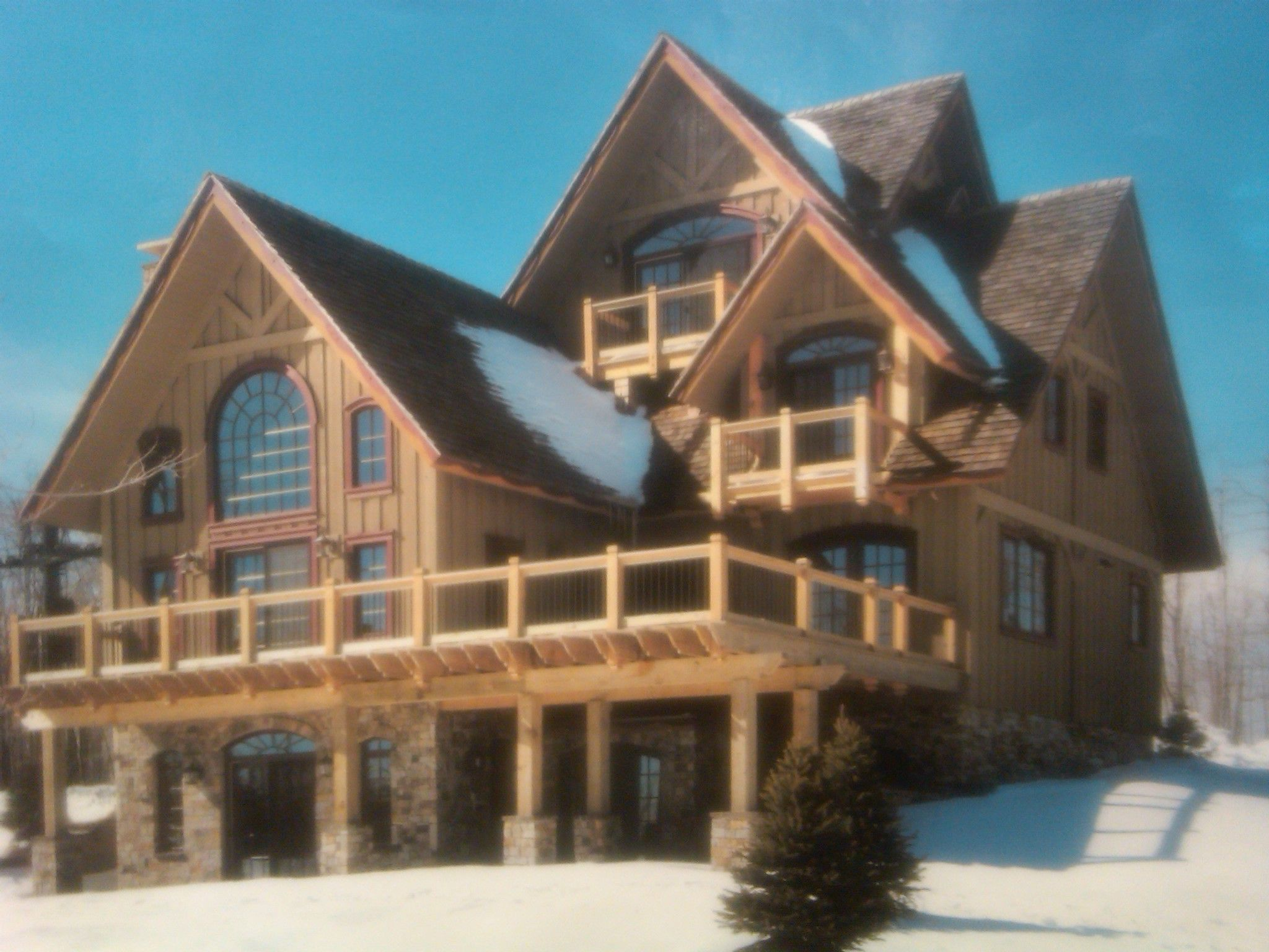 Amazing Log Home Lakefront Cabins Log Homes Pinterest