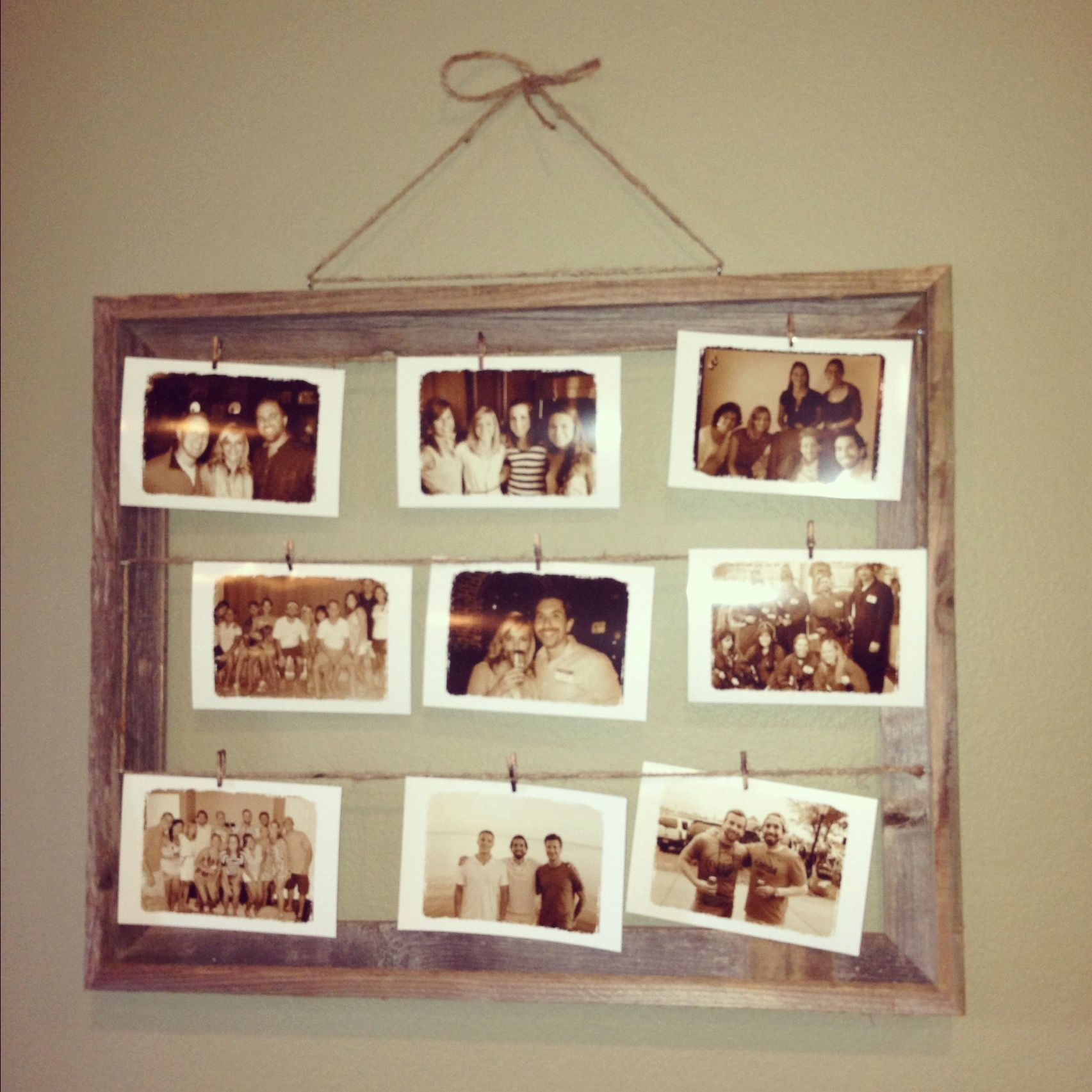 Diy picture frame decoration ideas pinterest Home decoration photo frames