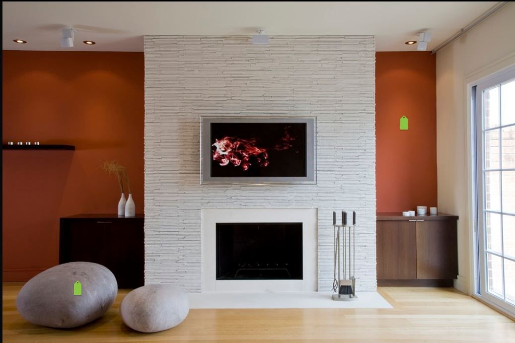 Floor to ceiling fireplace stone fireplace tv pinterest - Floor to ceiling fireplace ...