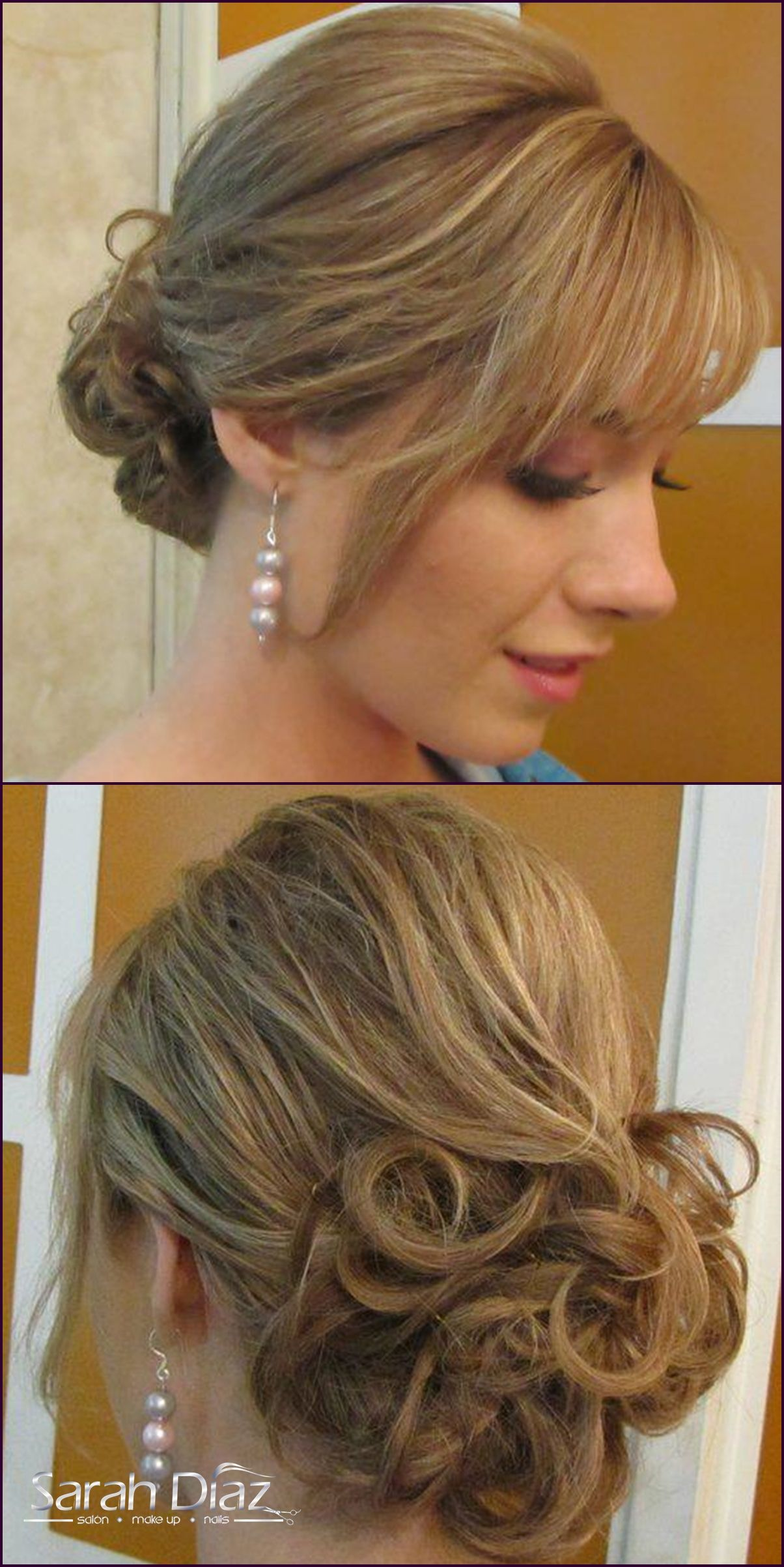 Chongo peinados de fiesta pinterest - Peinados de fiesta ...