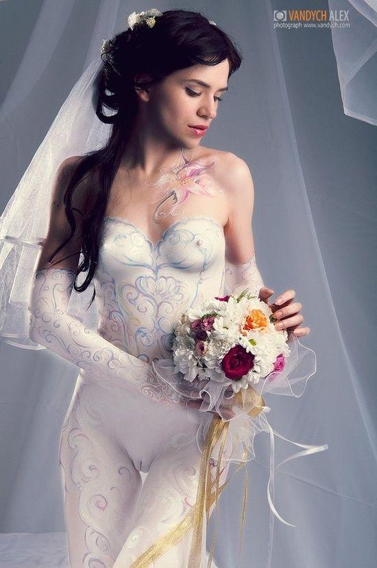 Cameltoe Wedding Body Paint Pinterest
