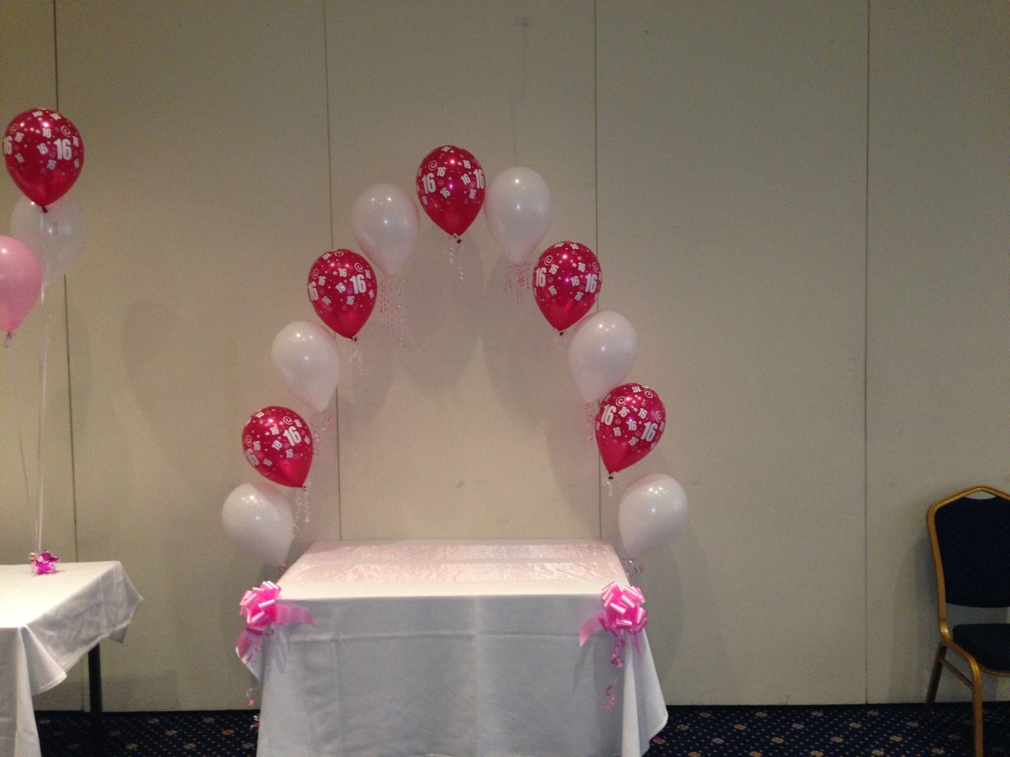 Fondant Cake Ball Design : Cake table balloon arch xx Balloon Arches & Canopies ...