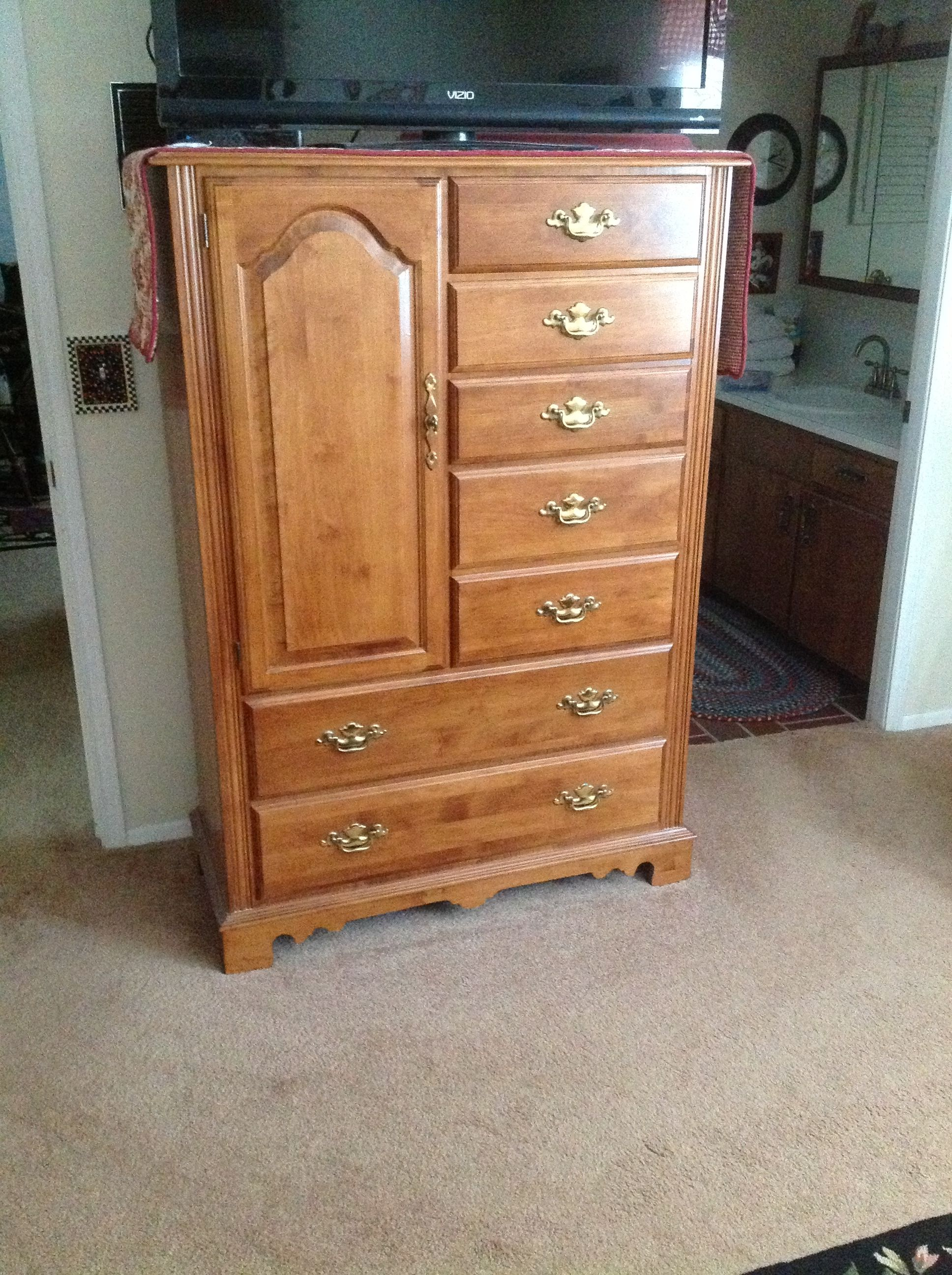 Tell City Armoire  My Tell City Furniture  Pinterest