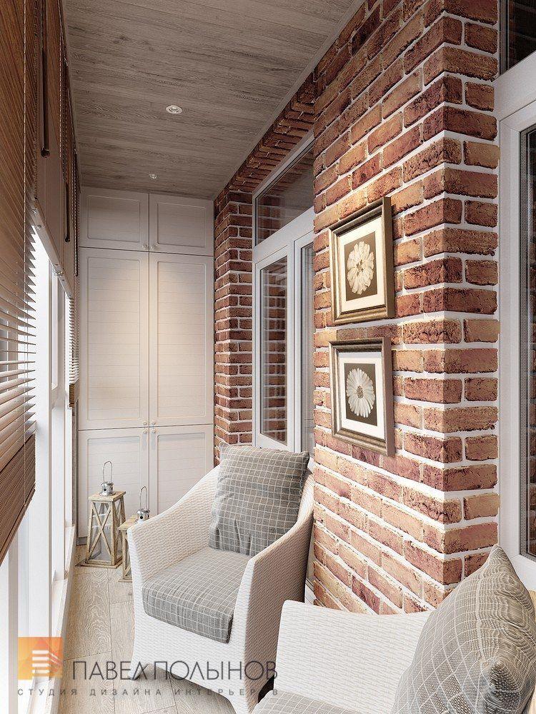 Интерьер балкона 4 кв.м в стиле прованс фото