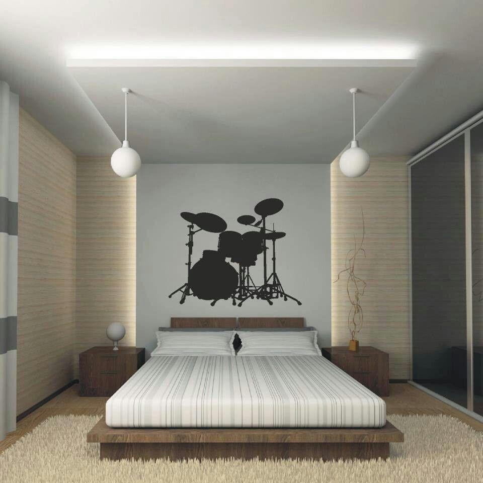 drum inspired bedroom bedrooms pinterest
