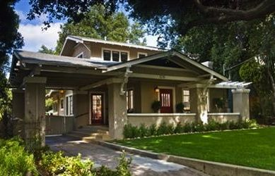 Chalet style airplane bungalow arts and crafts bungalows for Chalet style bungalow images
