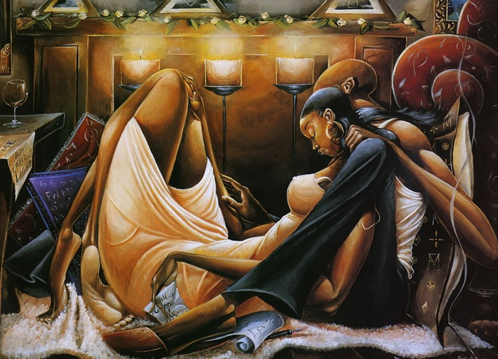 Fire and Desire (by Frank Morrison). | Artful | Pinterest