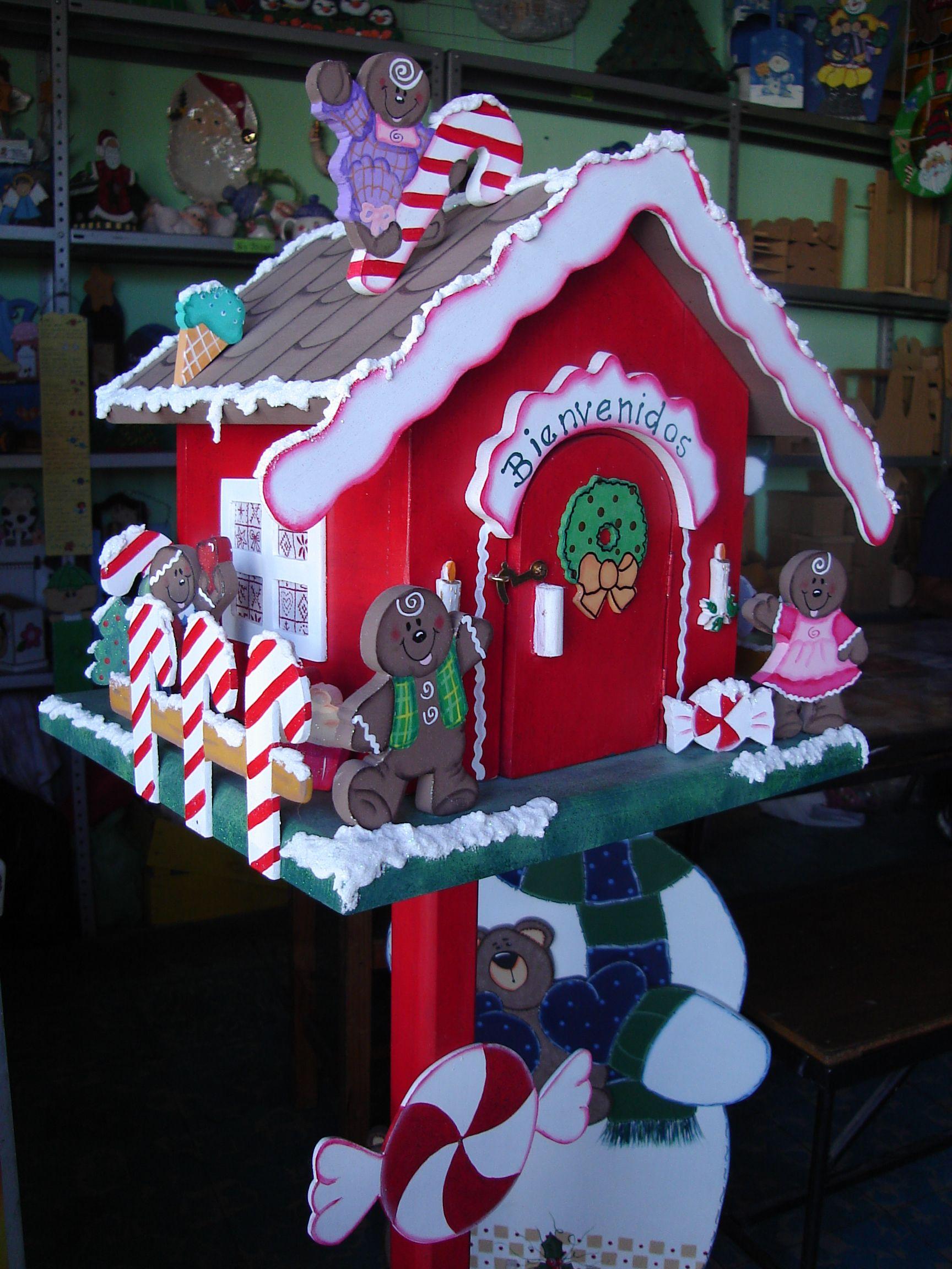 Baños Decorados Navidenos:buzon navideño