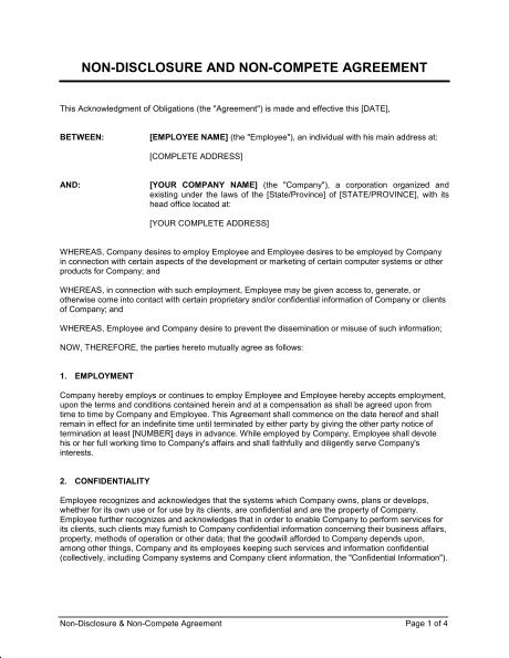 Contractor Confidentiality Agreement Solarfm