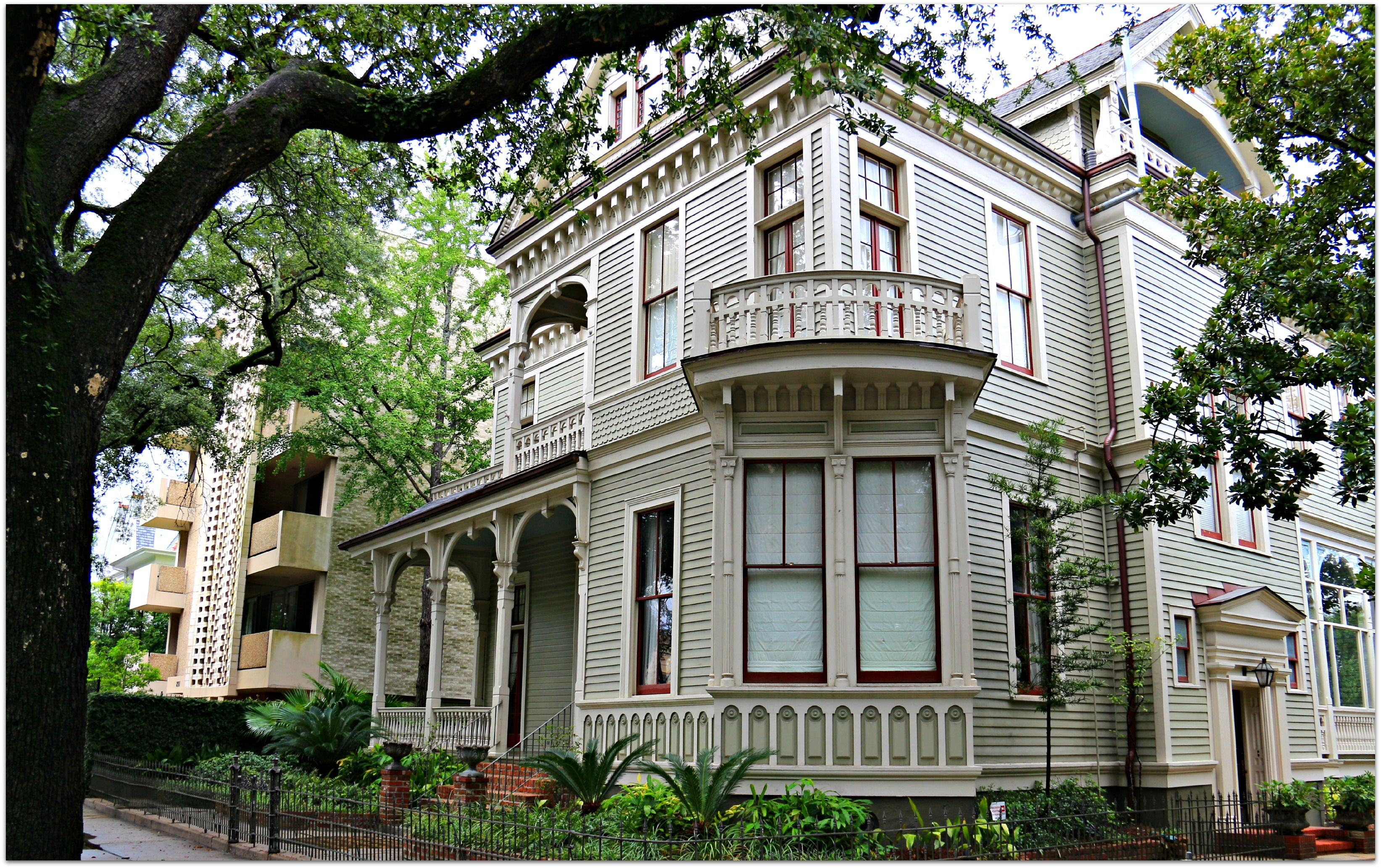 St Charles Ave Home Historic New Orleans Homes And The