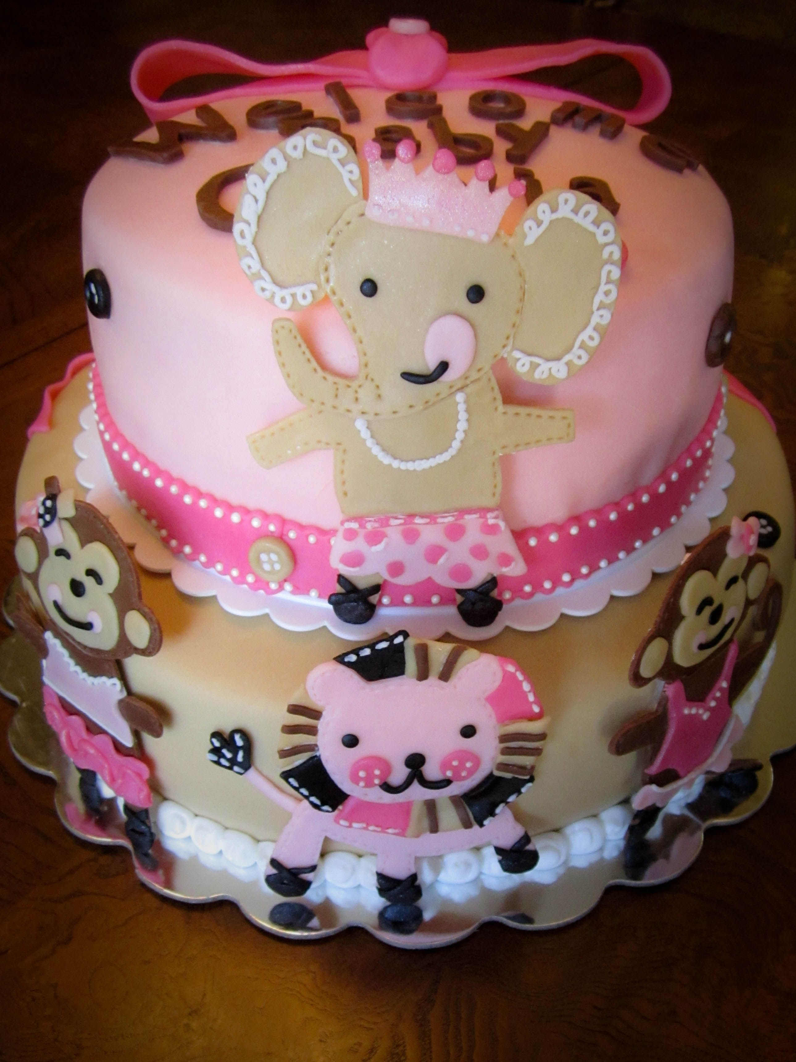 tutu cute baby shower cake cakes pastries pinterest