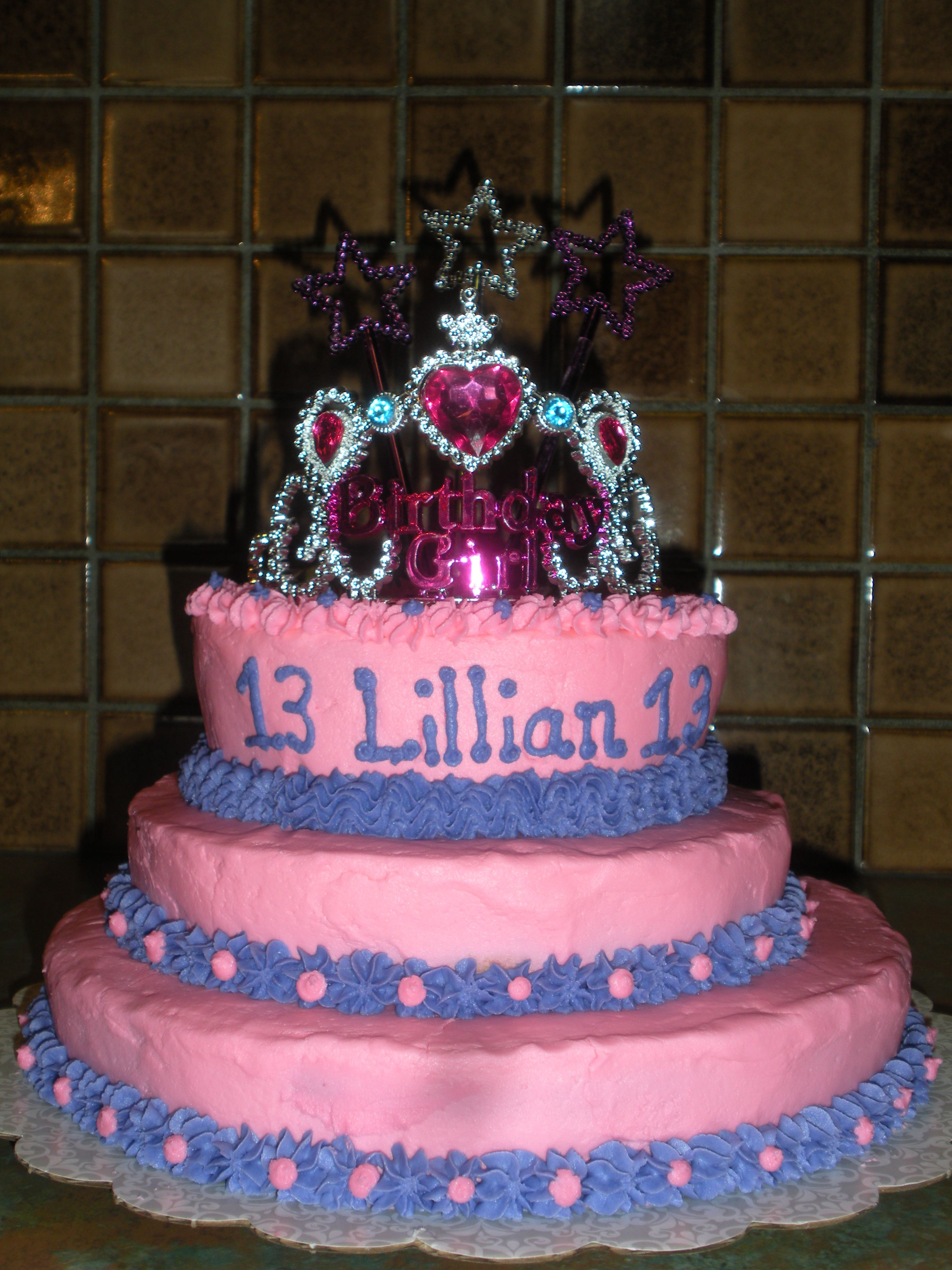 cake for 13 year old lillian birthday party ideas. Black Bedroom Furniture Sets. Home Design Ideas