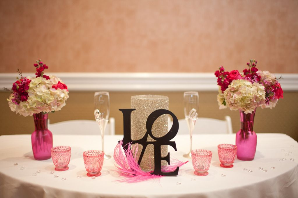 Bride Groom Wedding Table Ideas : The bride and grooms table wedding ideas