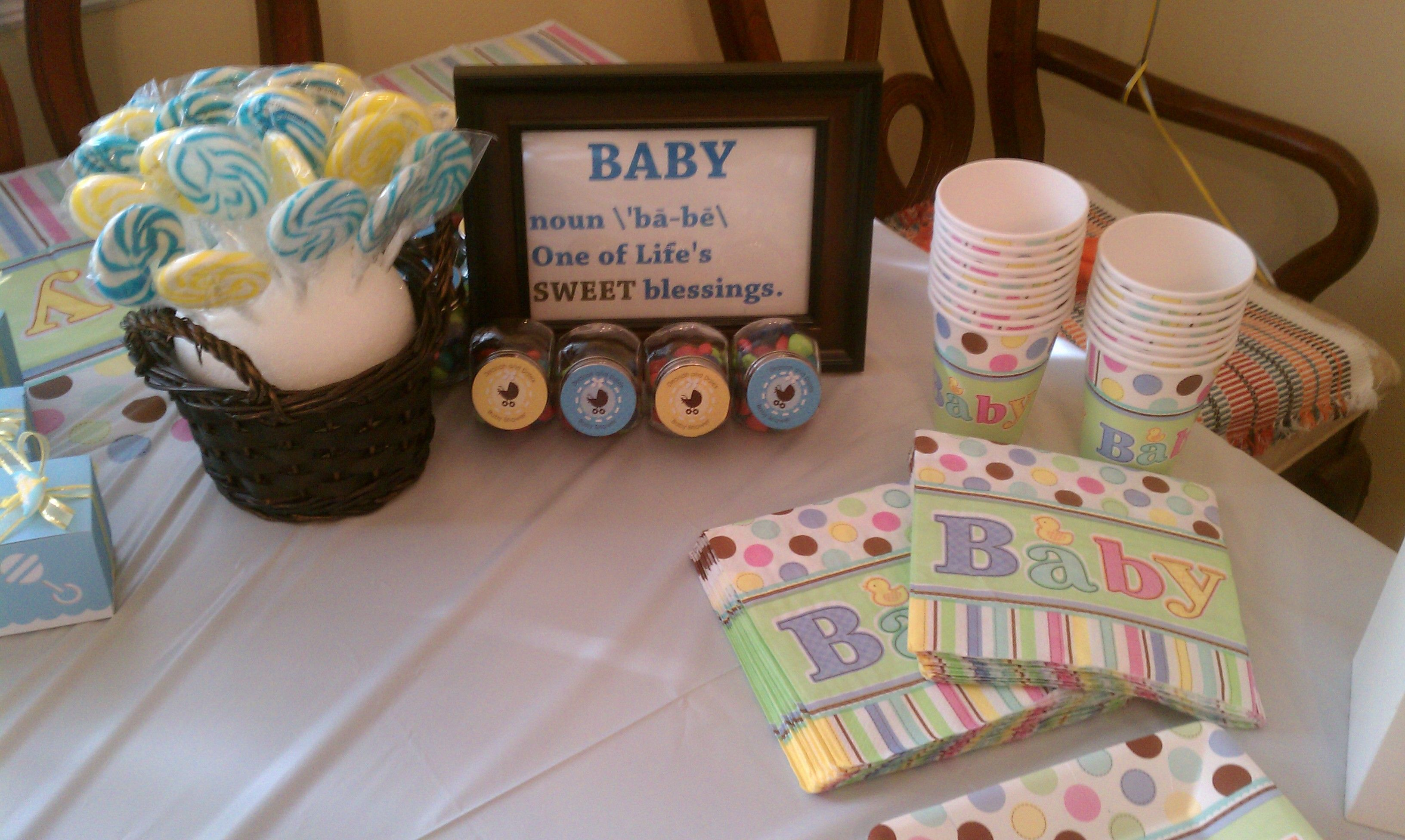 candy table set up baby shower planning pinterest