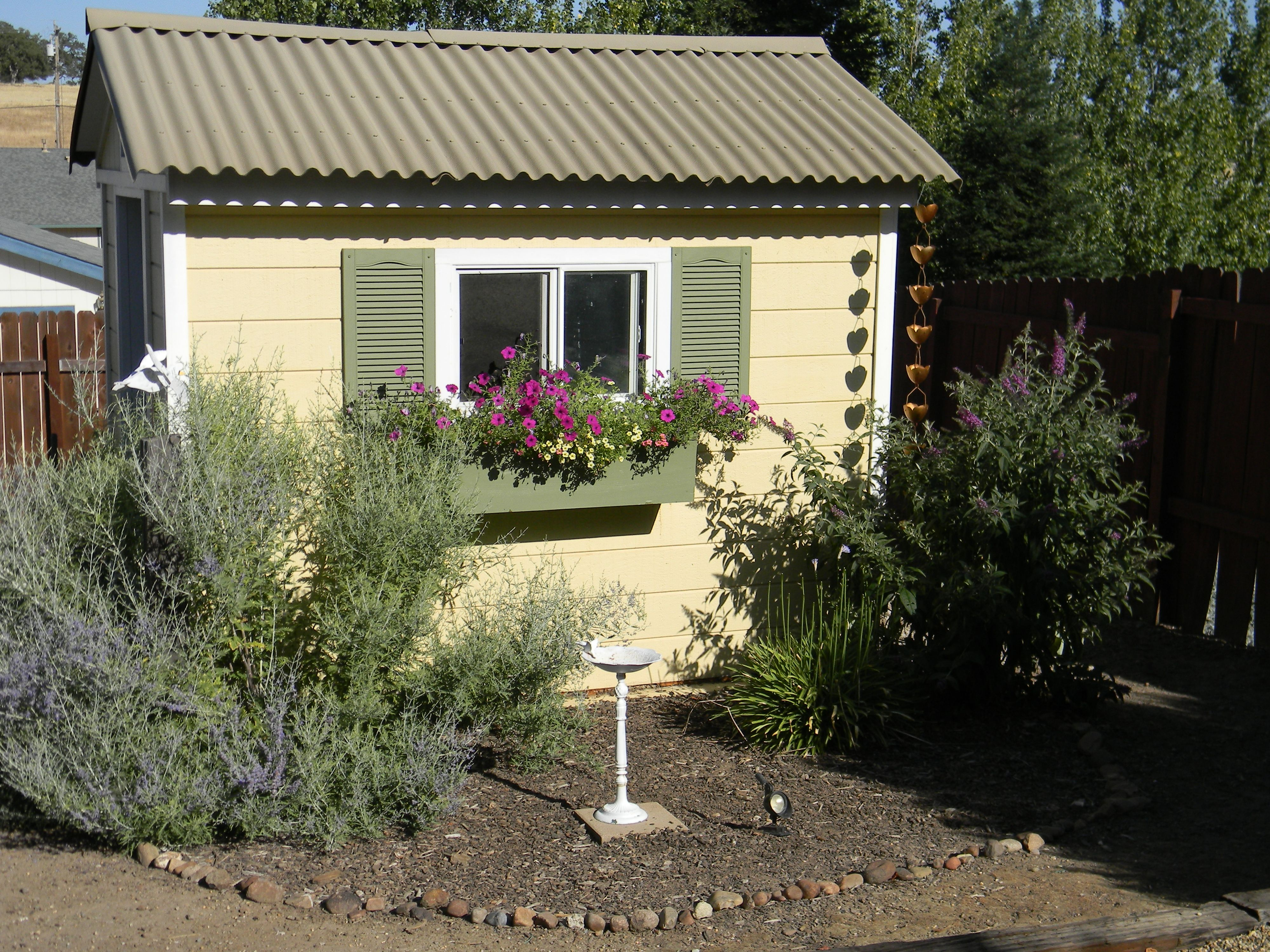 Shed garden cottage garden shed ideas pinterest - Cottage garden shed pictures ...