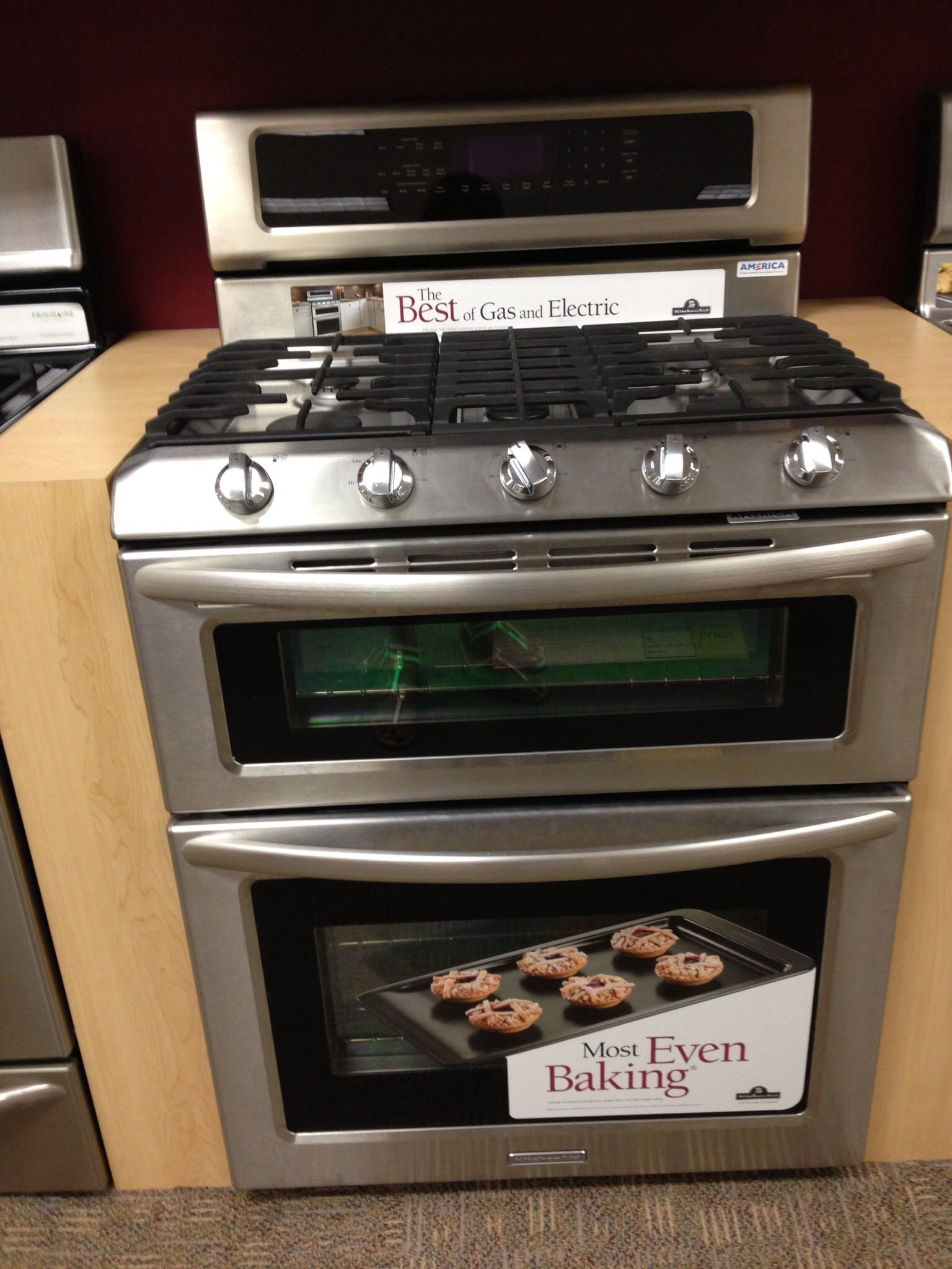 Double Induction Cooker ~ Range oven double induction