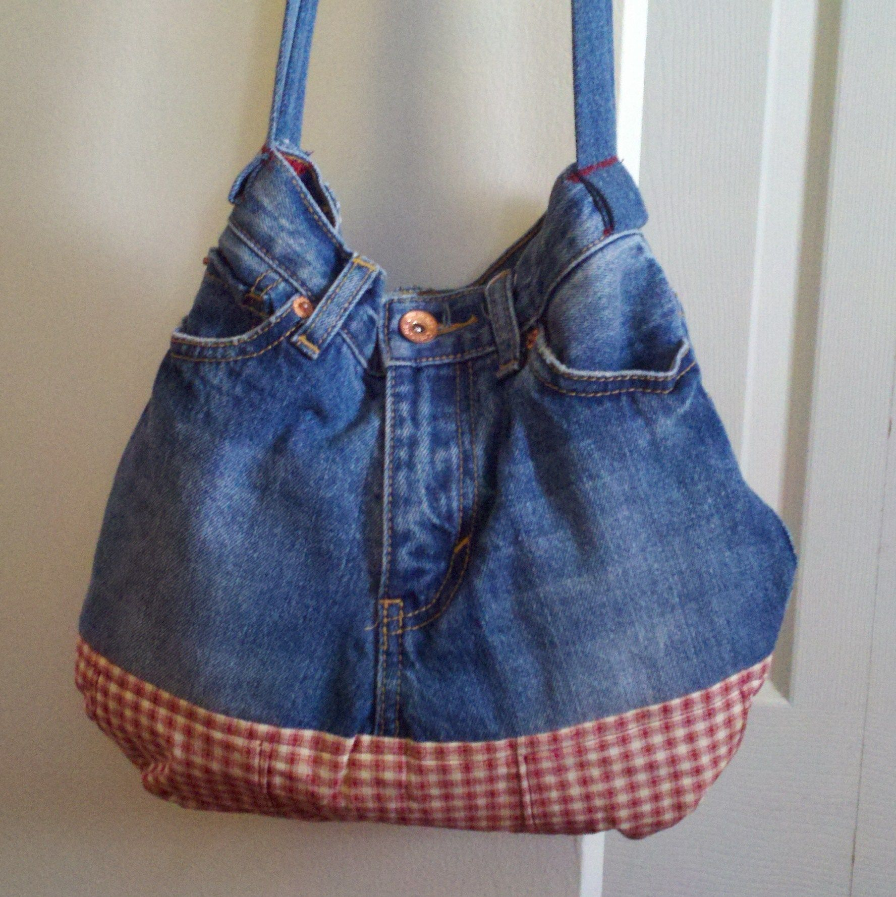 Pinterest Crafts Old Blue Jeans