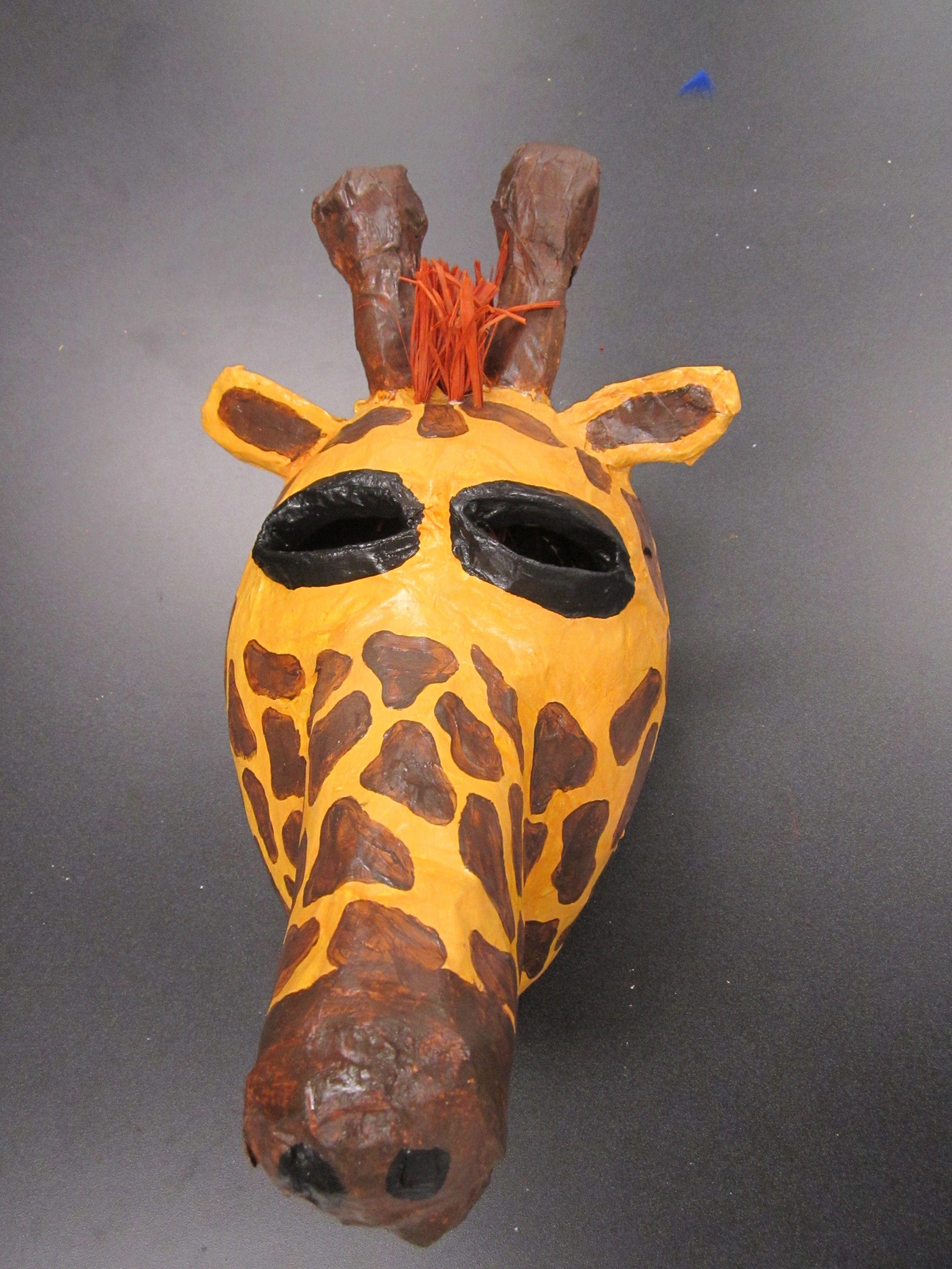 Paper mache masks for Paper mache mash