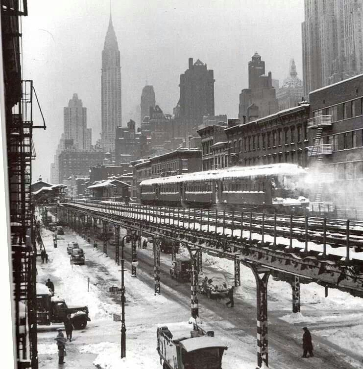 3rd Ave El New York Pinterest