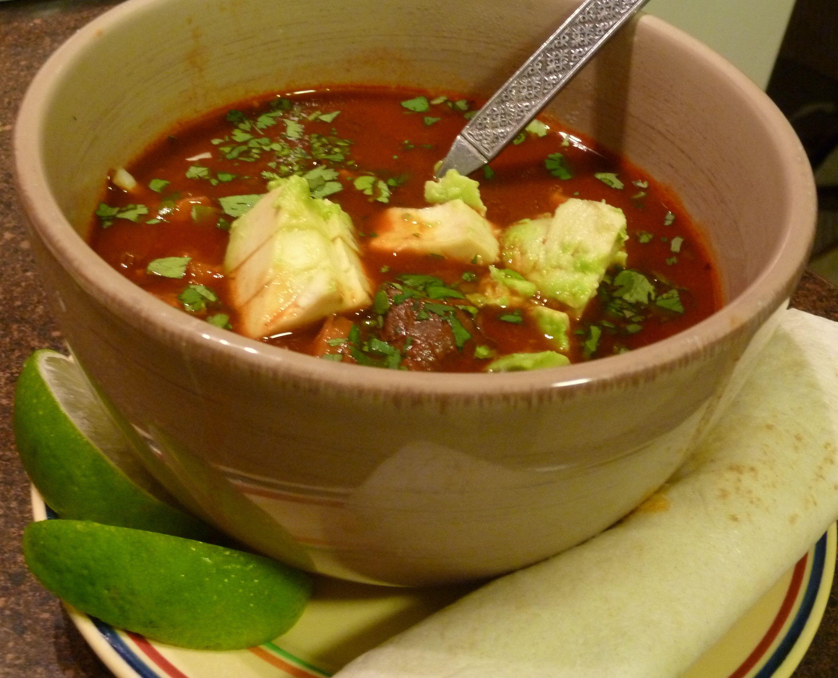 red chili elk posole | Dinner Recipes | Pinterest