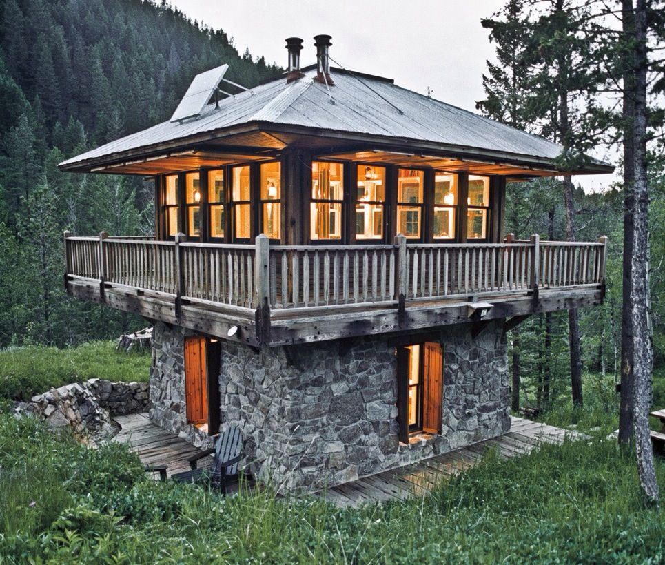 Small tower house plans maisons et design pinterest for Tower house plans