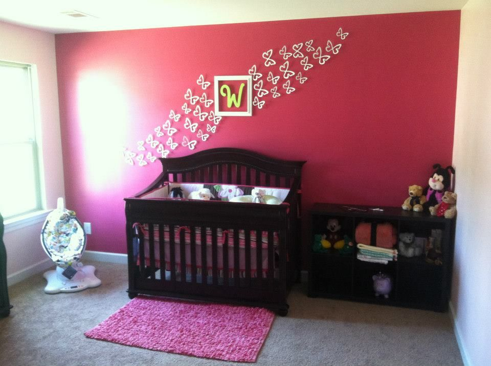 Pink And Green Nursery Pinterest Crafts