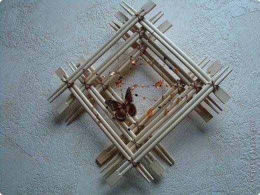 Фото поделок из палочек для суши