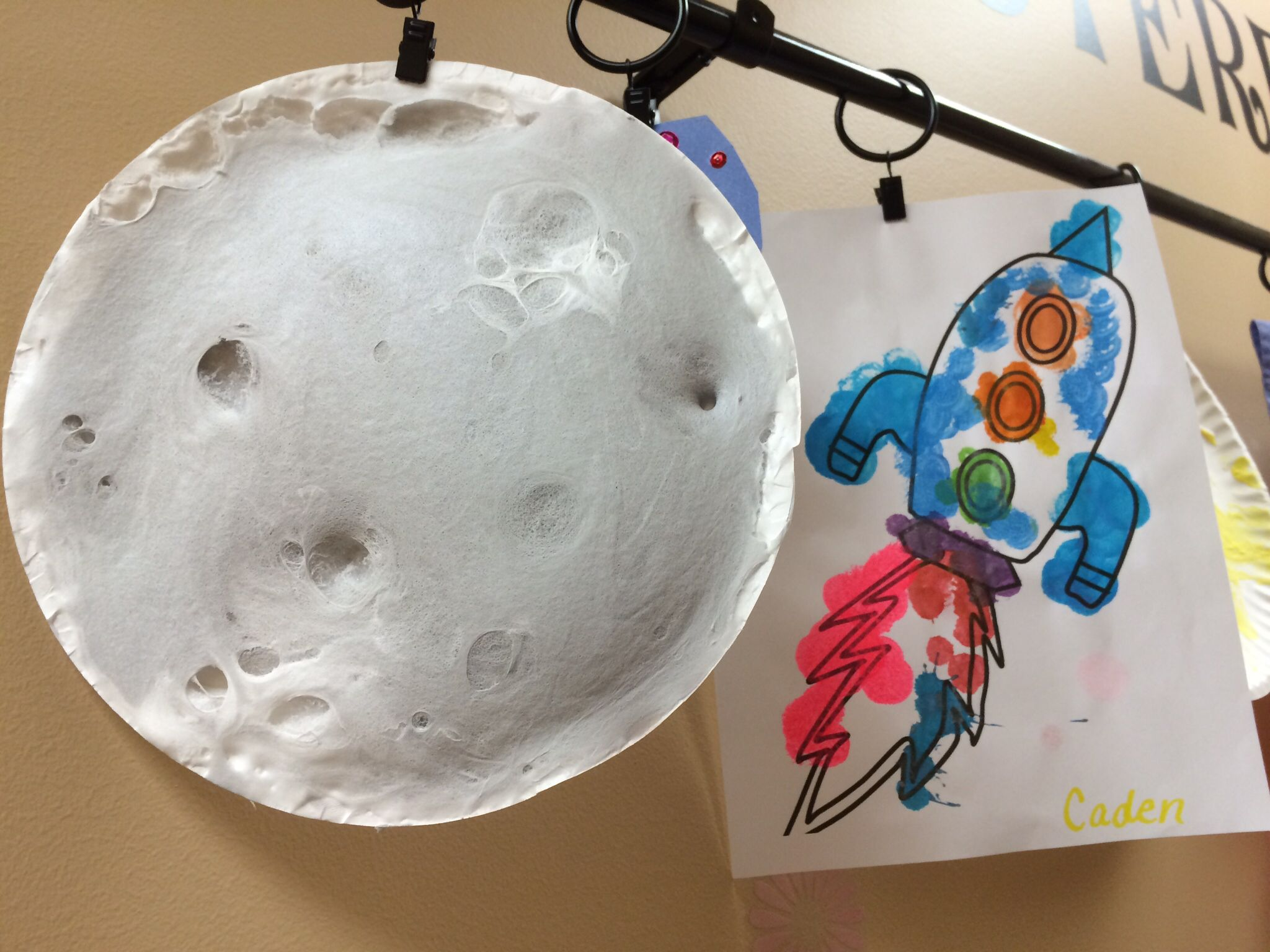 Outer space theme ot themes pinterest for Outer space crafts
