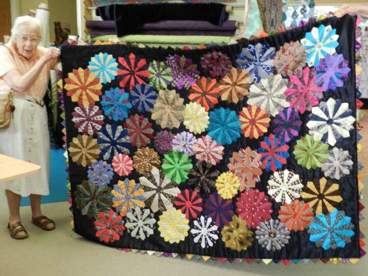 quilt made of silk neckties!   Quilts   Pinterest