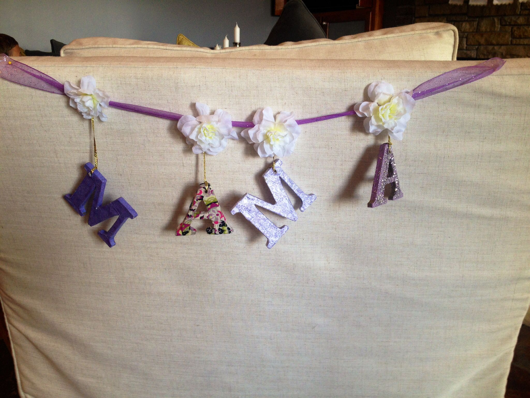 banner for mom to be chair brooke 39 s baby shower pinterest