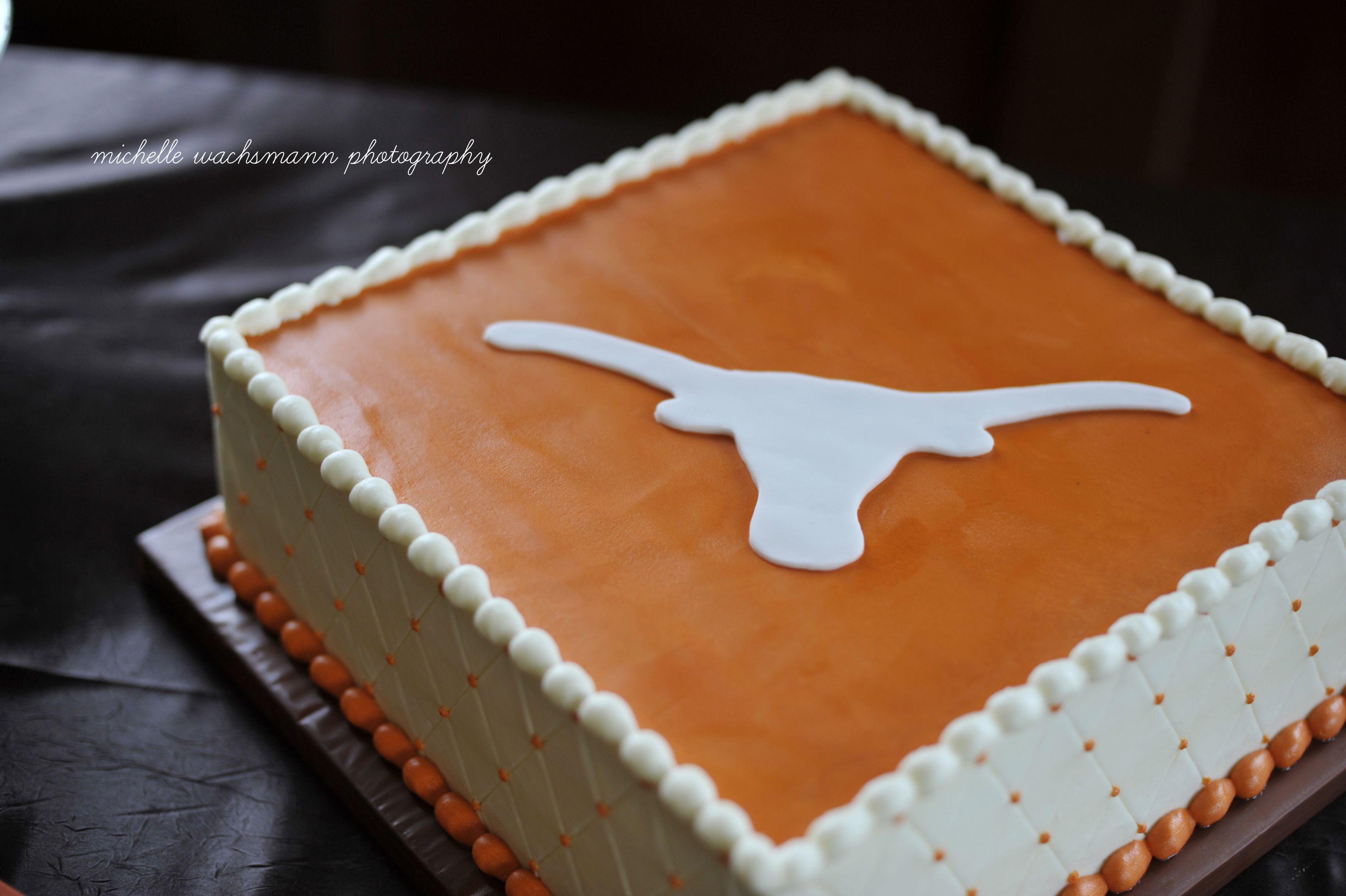 Texas Longhorn Grooms Cake