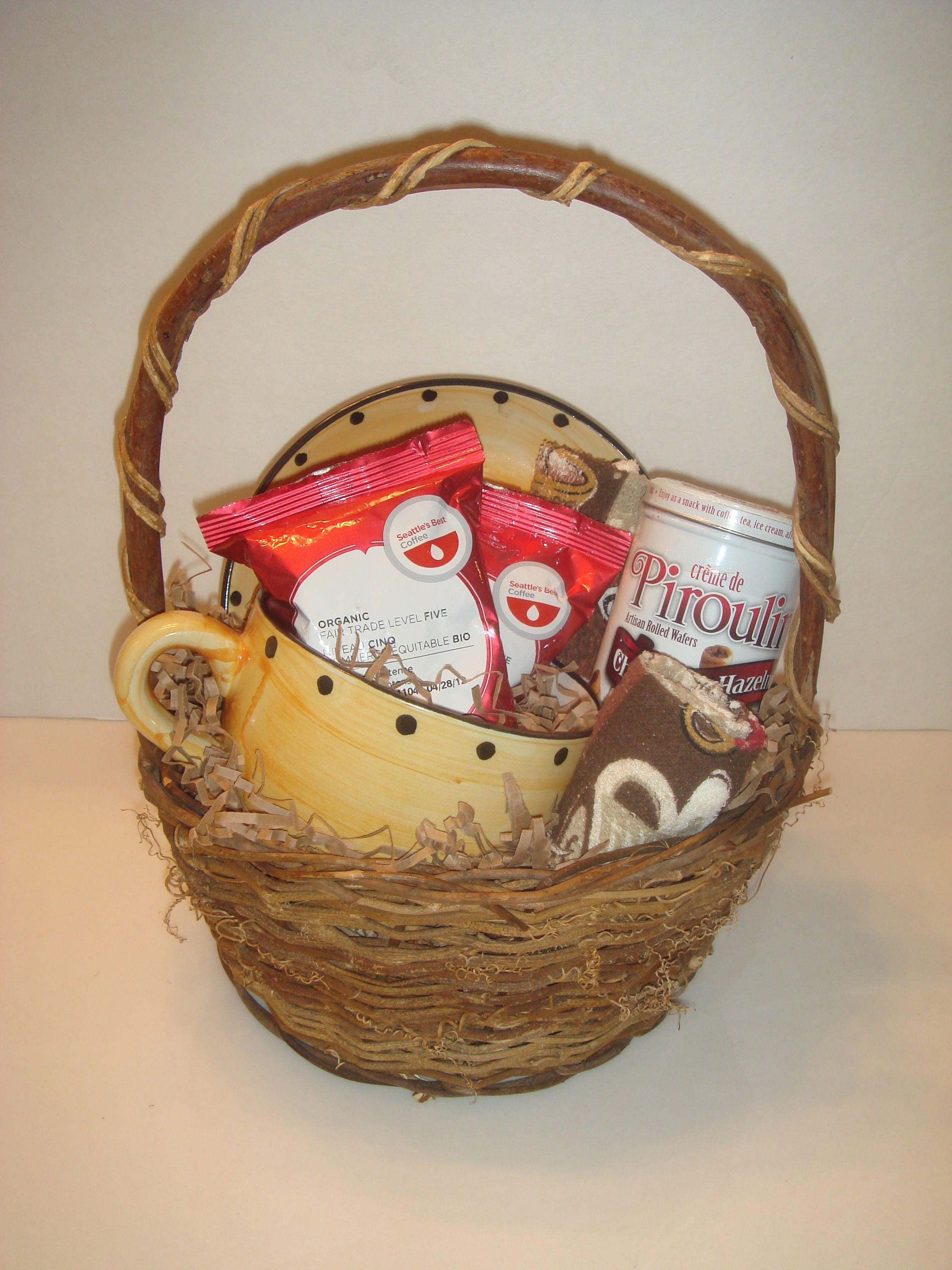 Coffee Gift Basket Ideas Diy