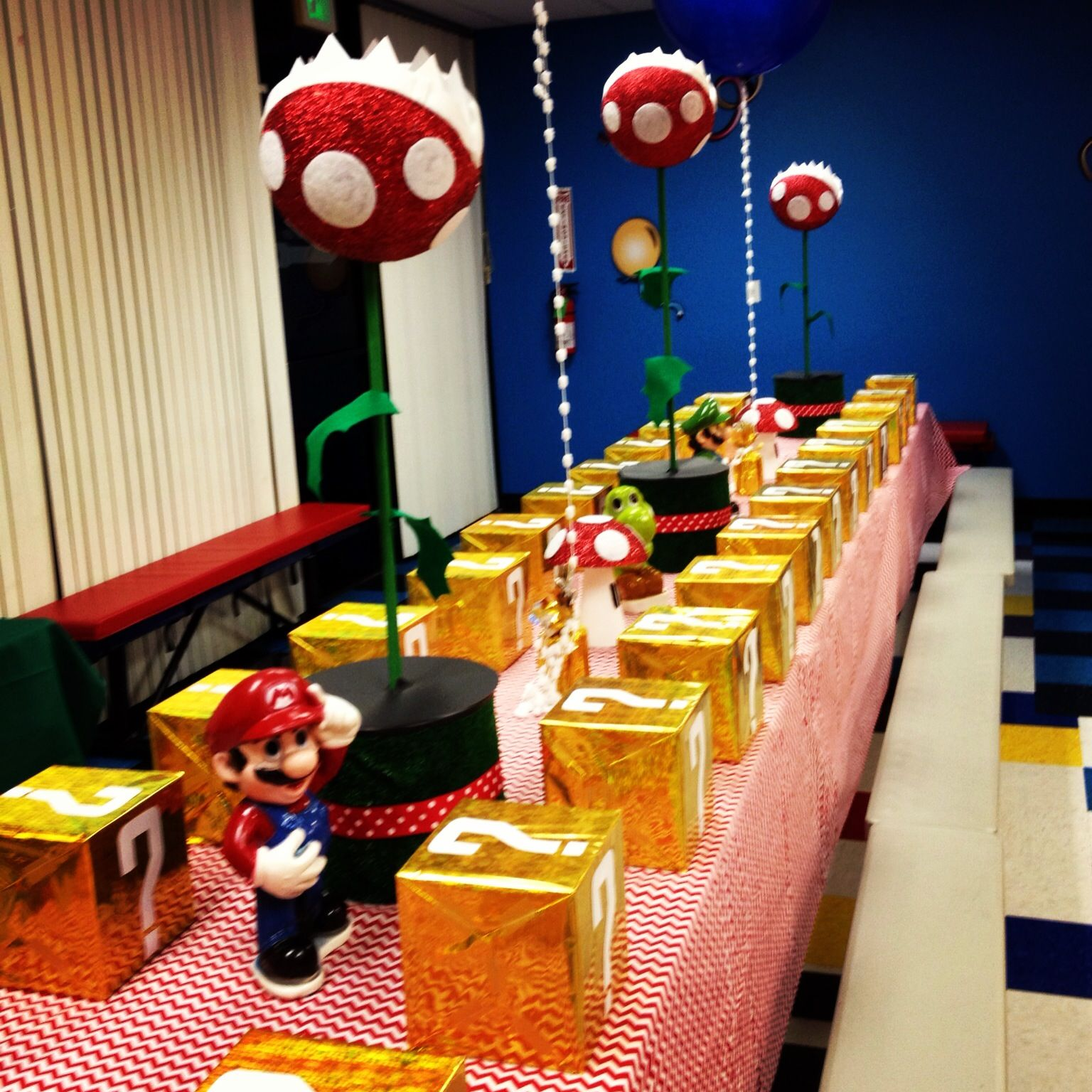 Super mario party ideas pinterest for Mario decorations