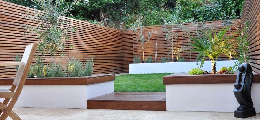 Two Tiered Backyard : Tiered garden  Garden ideas  Pinterest