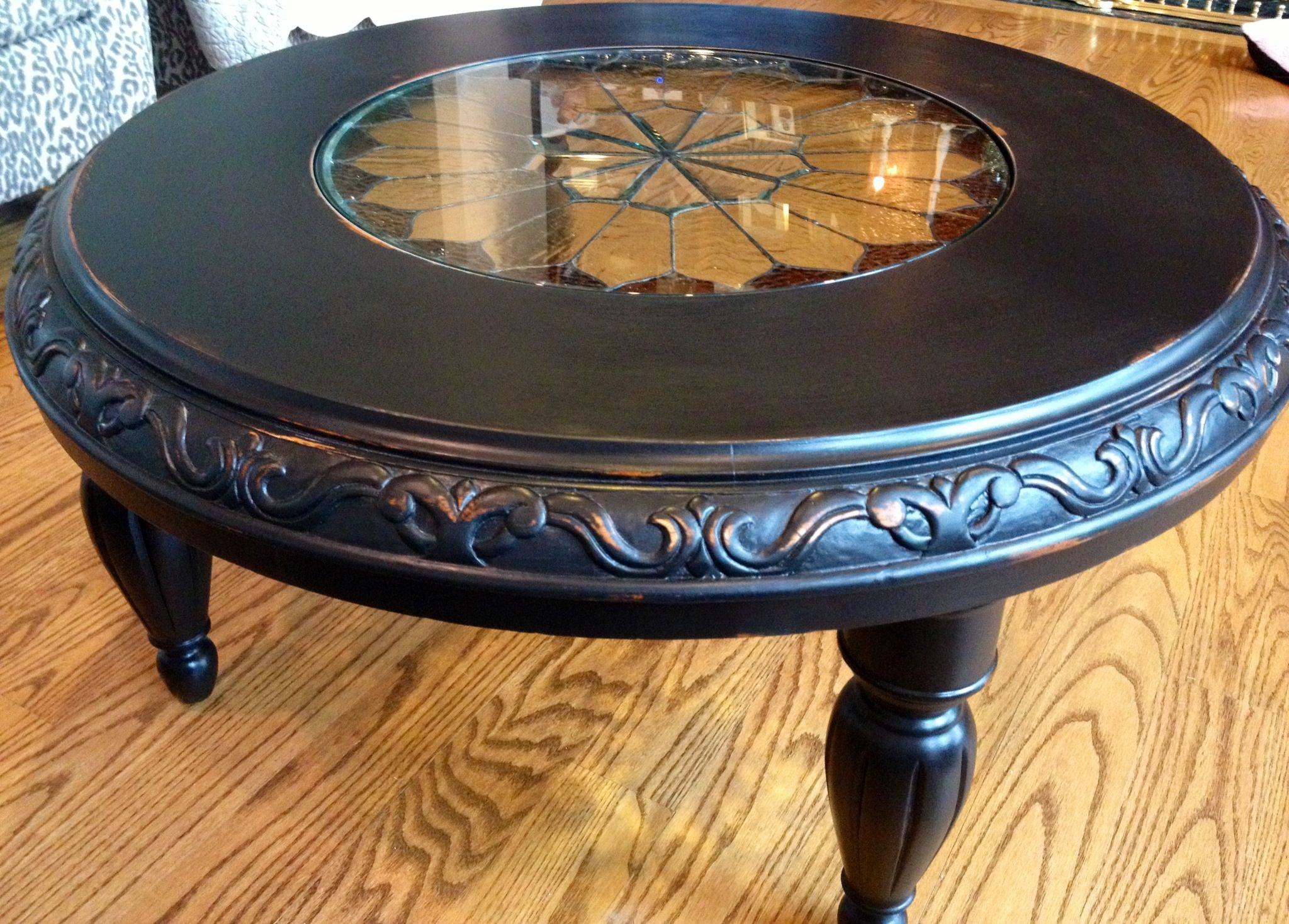 Painted Coffee Table Painted Furniture Pinterest