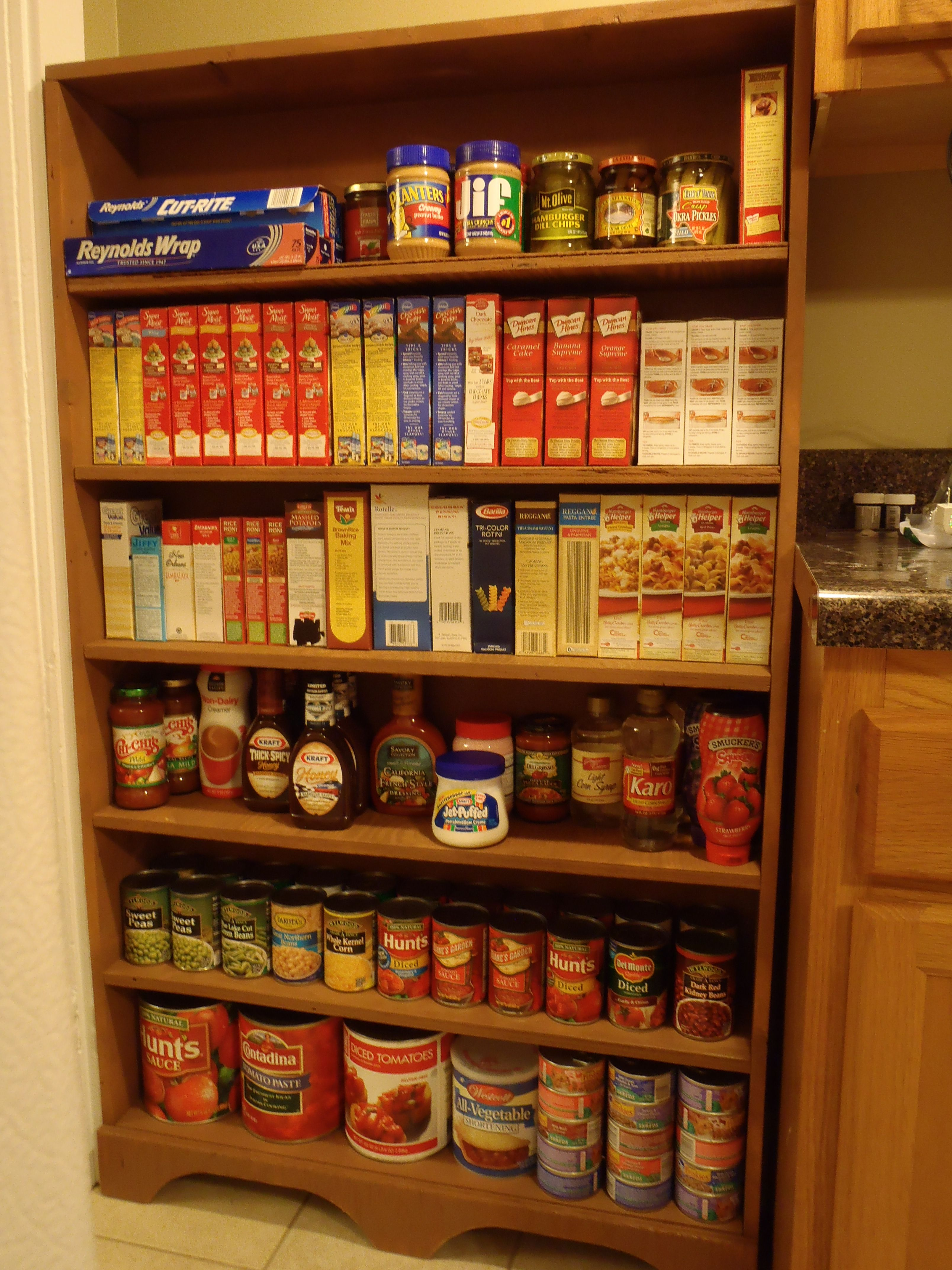 Marvelous photograph of Pantry shelf made out of reclaimed wood My Style Pinterest with #B83613 color and 3216x4288 pixels