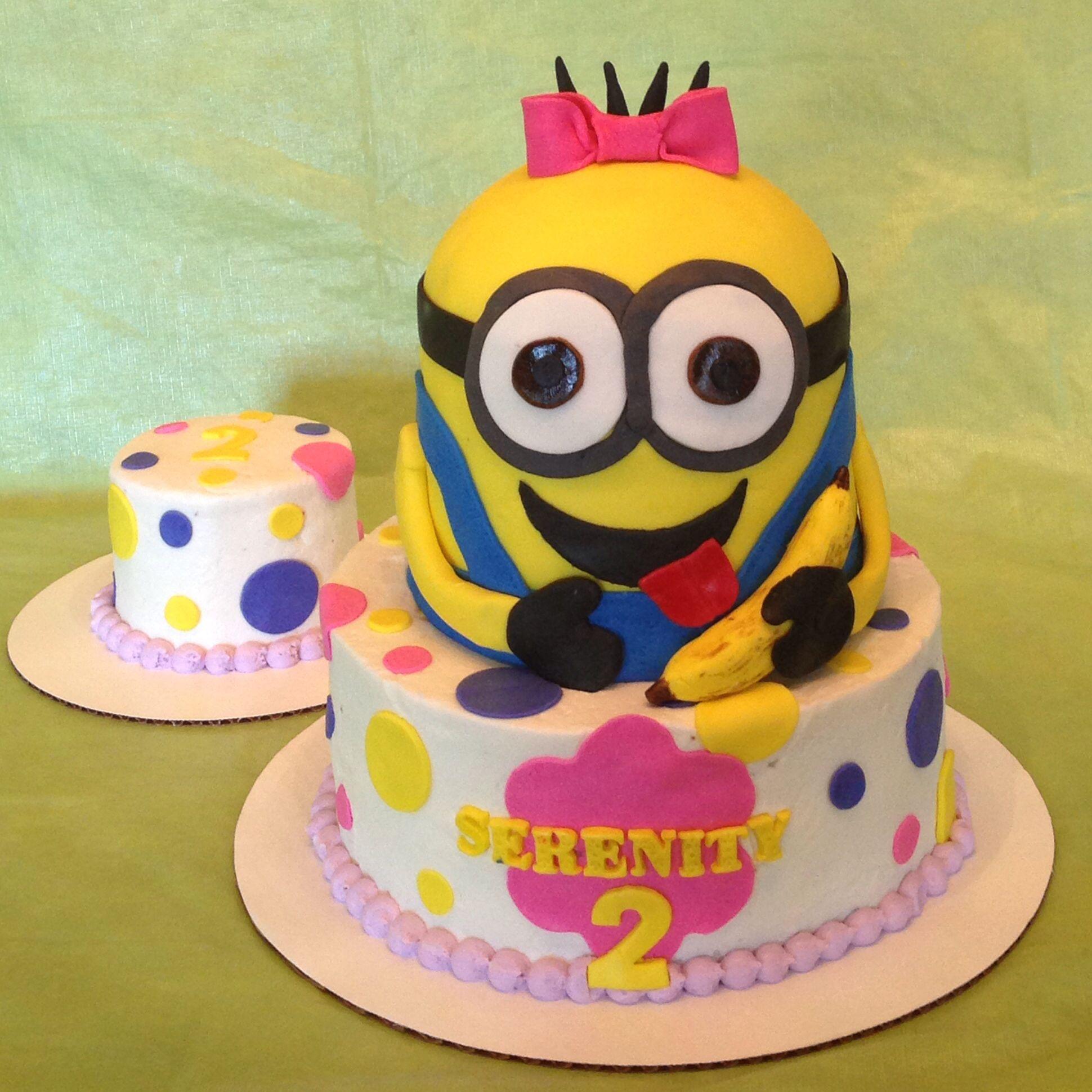 Minion Cake Design Pinterest : Minion cake Cake Ideas Pinterest