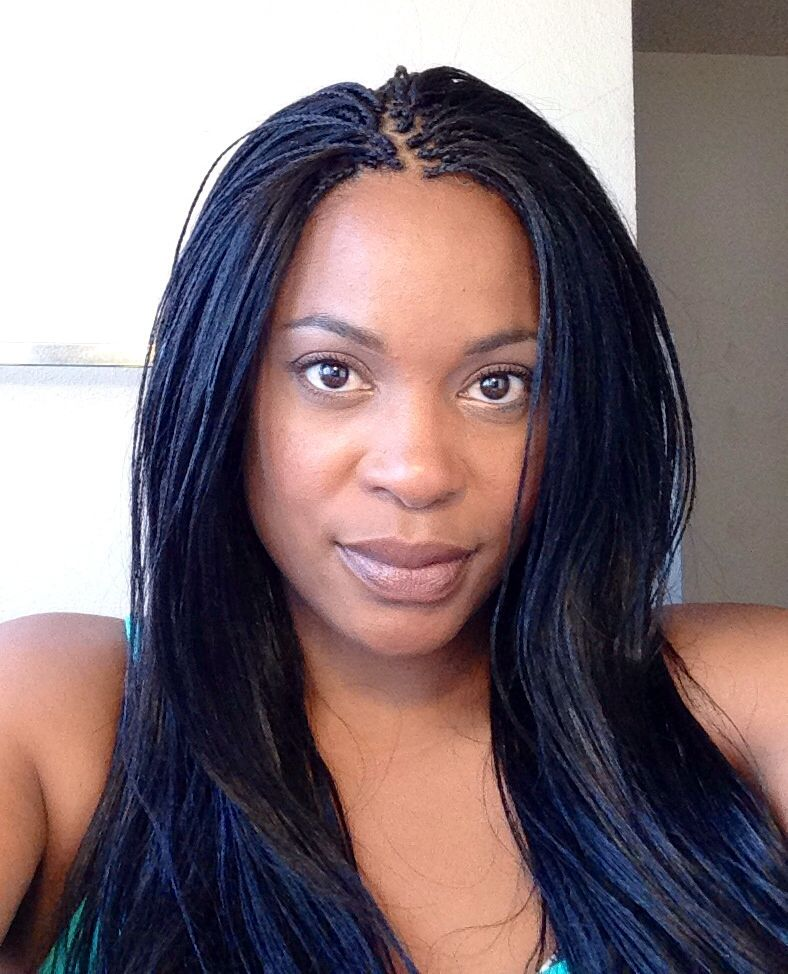 two layer braids hairstyles : Micro Braids Hairstyles On Pinterest Tree Braids Micro ...