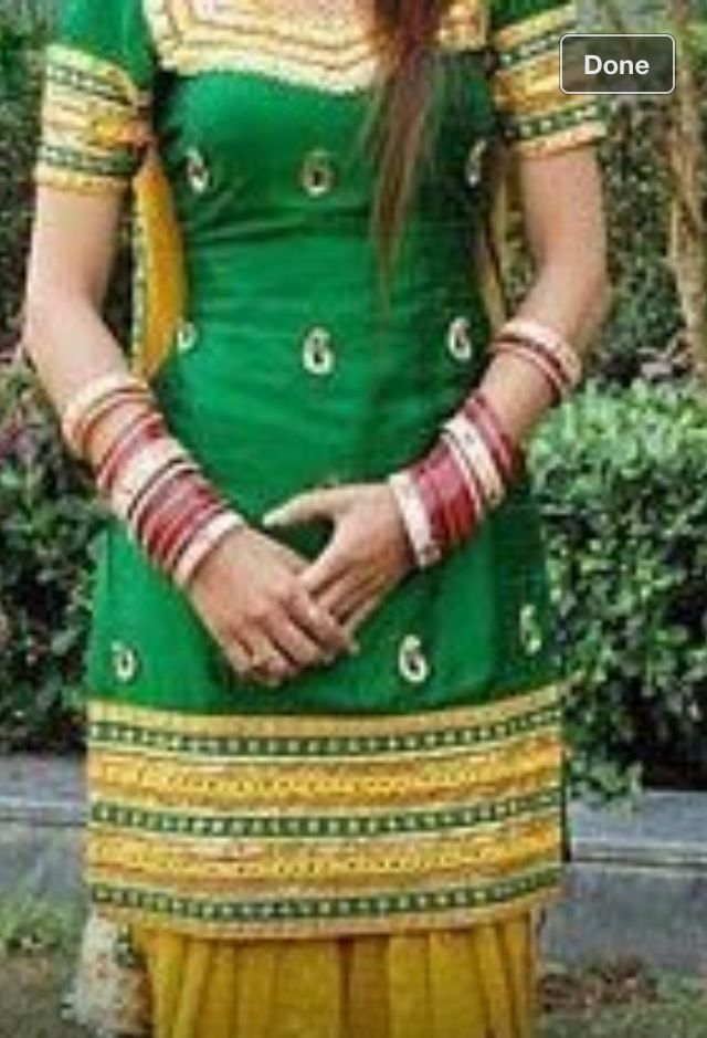 Love the embroidery on this patiala suit indian costumes pinterest