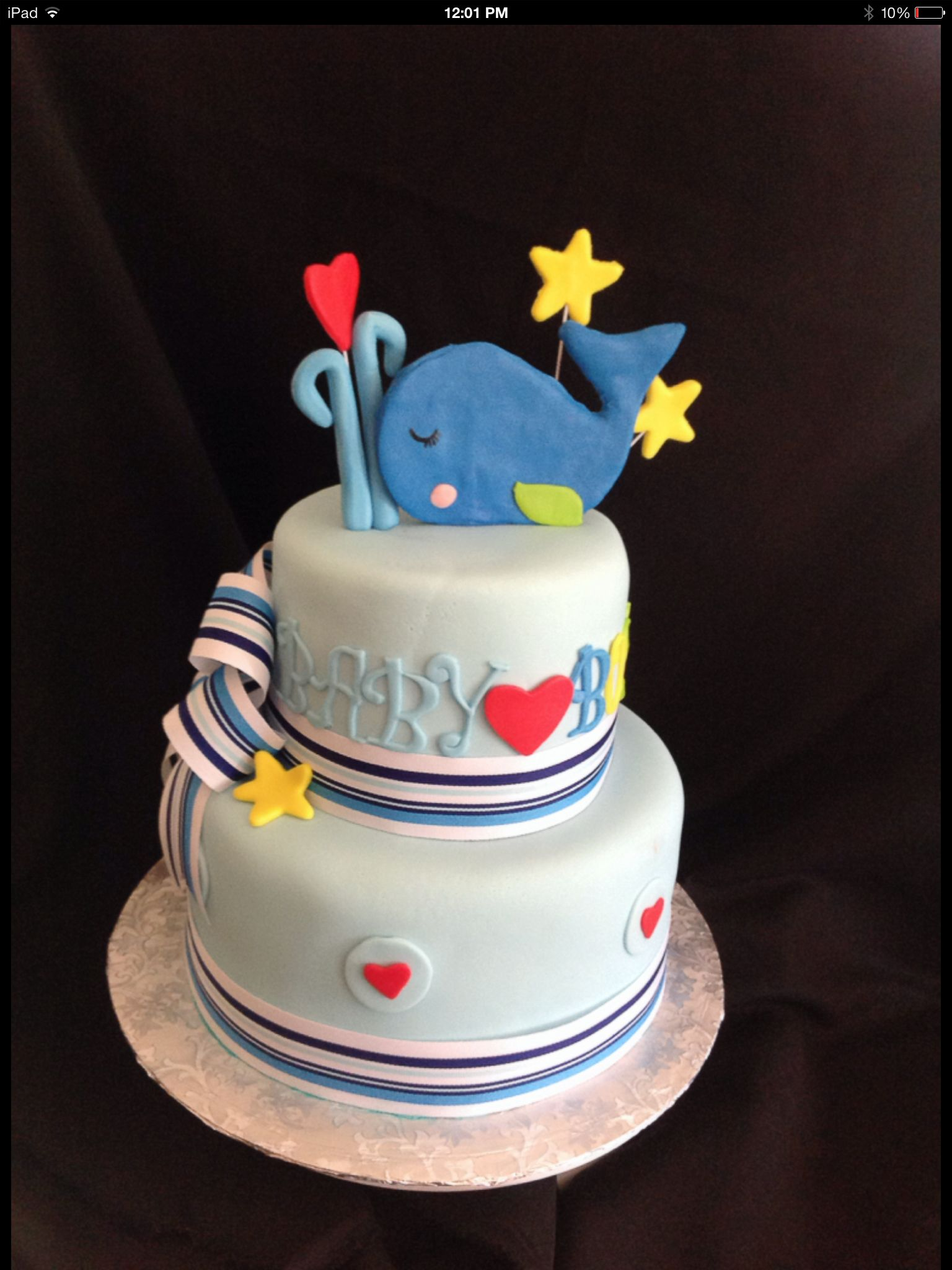 whale baby shower cake crystal 39 s cakes pinterest