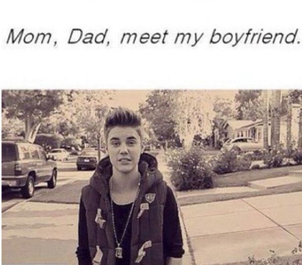 My dad my boyfriend