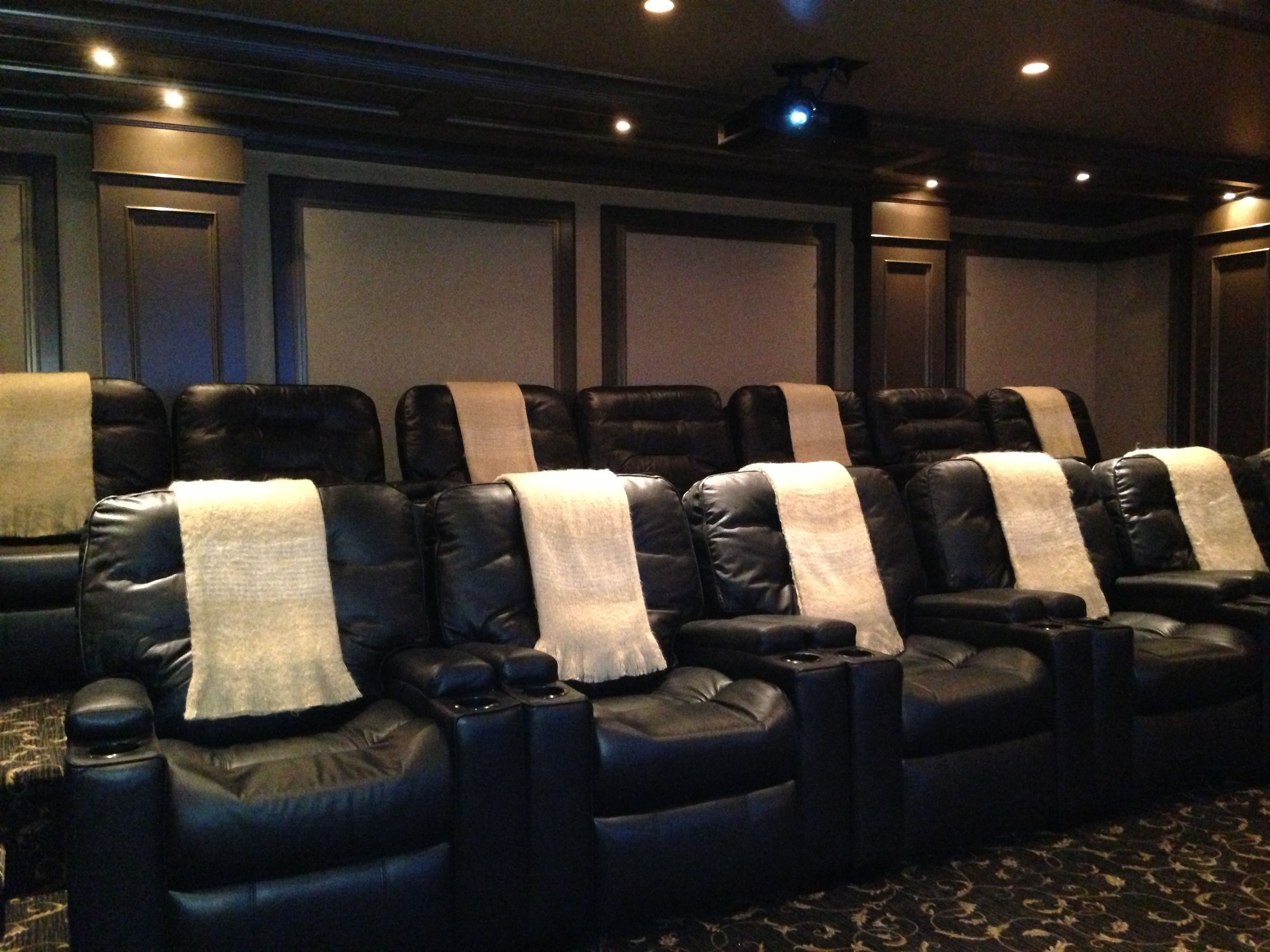 Theater Room Seating The Gathering Room Pinterest