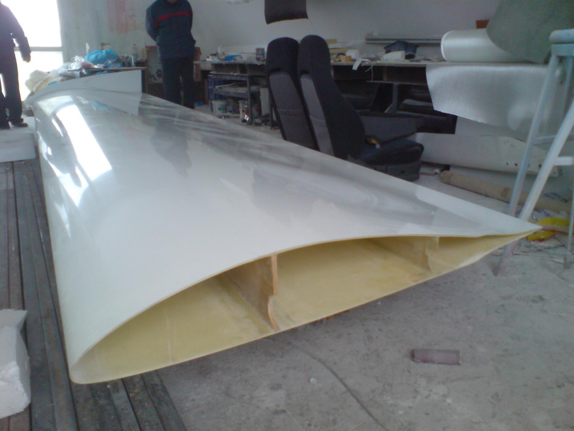 Крыло из стекловолокна своими руками 45